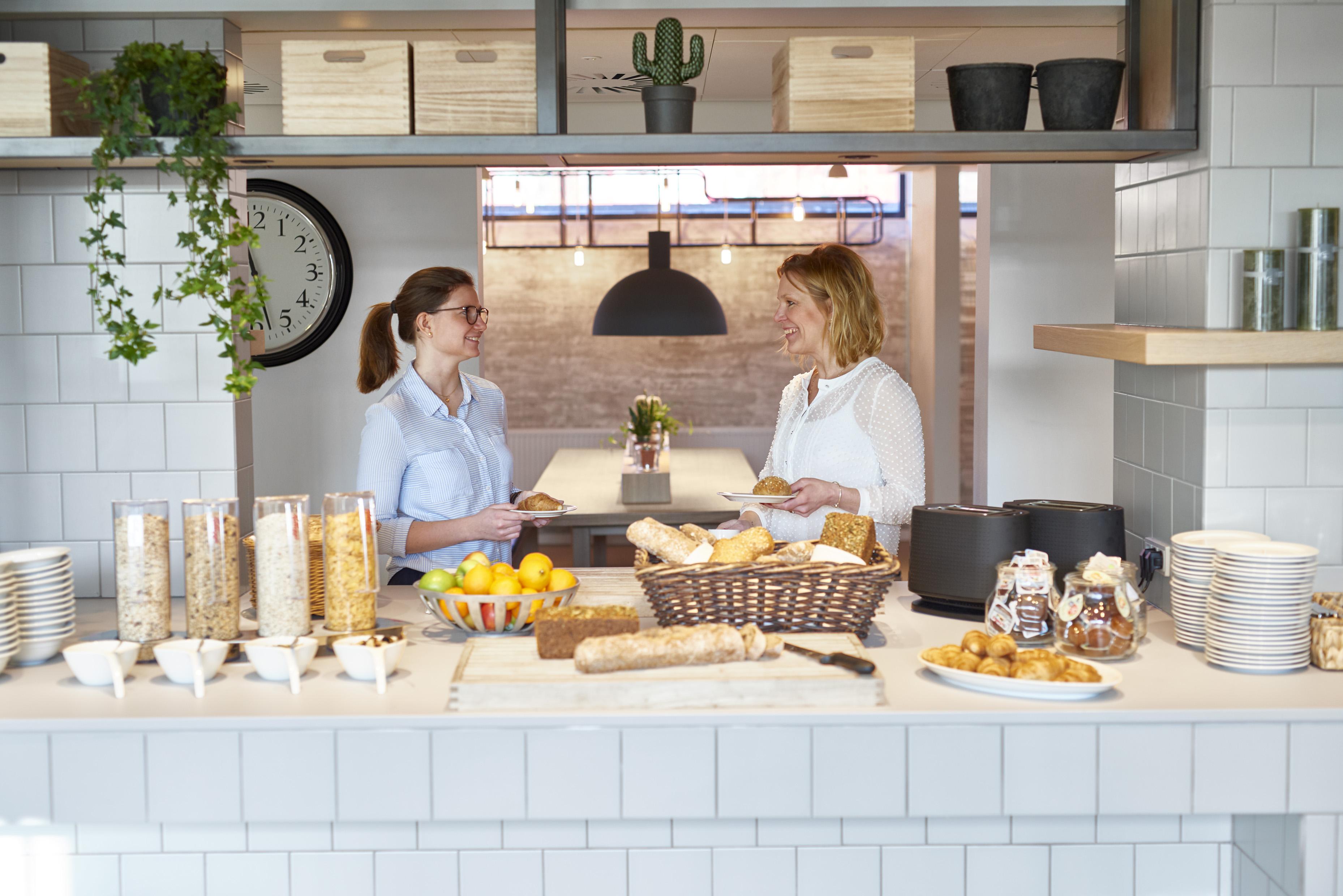 Den danske hotelkæde Zleep, der er ejet af tyske Deutsche Hospitality, dropper nu plastik, hvor det er muligt, ved blandt andet sin morgenmadsservering. Arkivfoto fra Zleep Hotels.