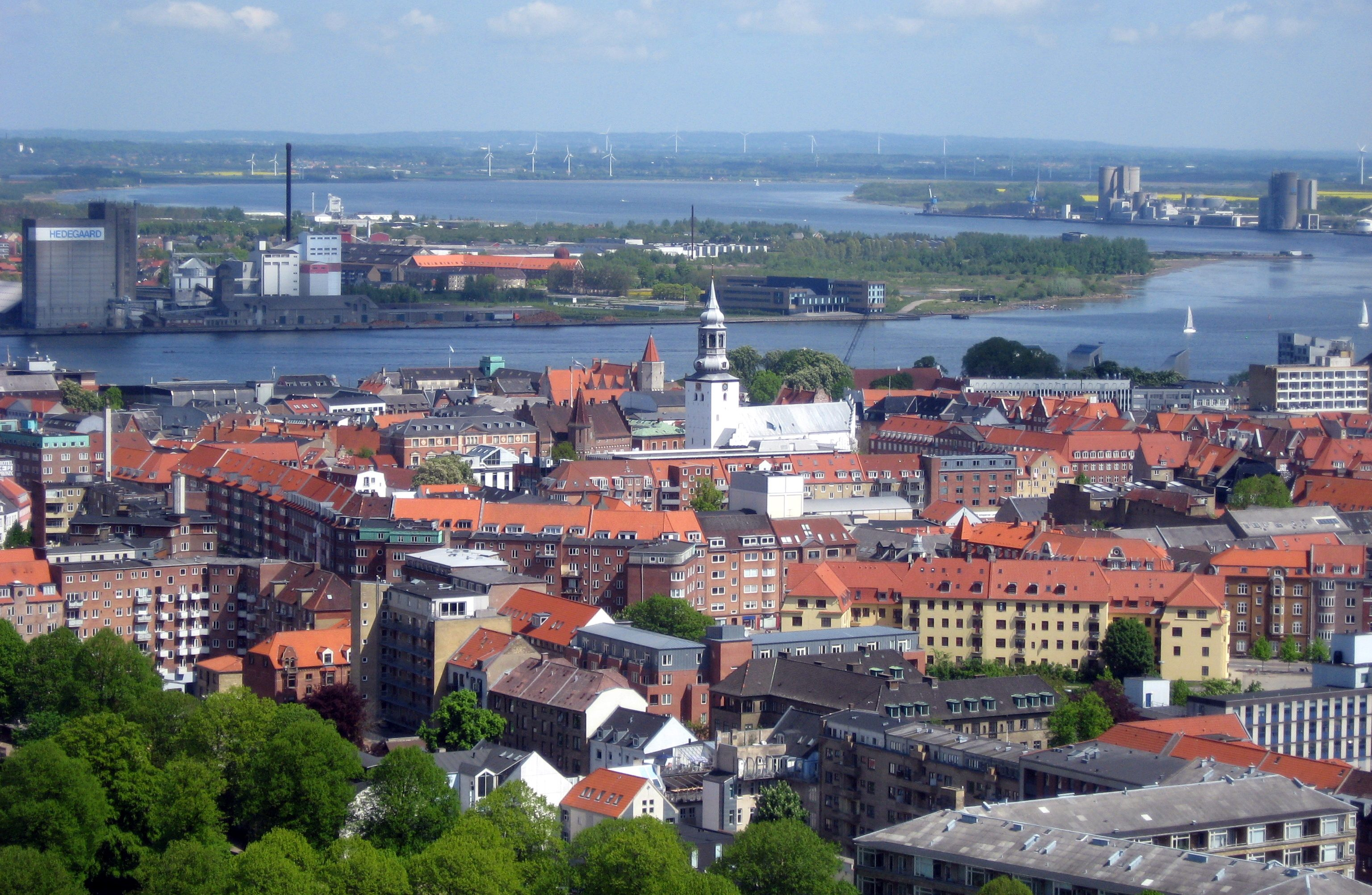 Aalborg er blandt de fem mest bæredygtige byer i verden. Foto: Tomasz Sienicki, CC 3.0