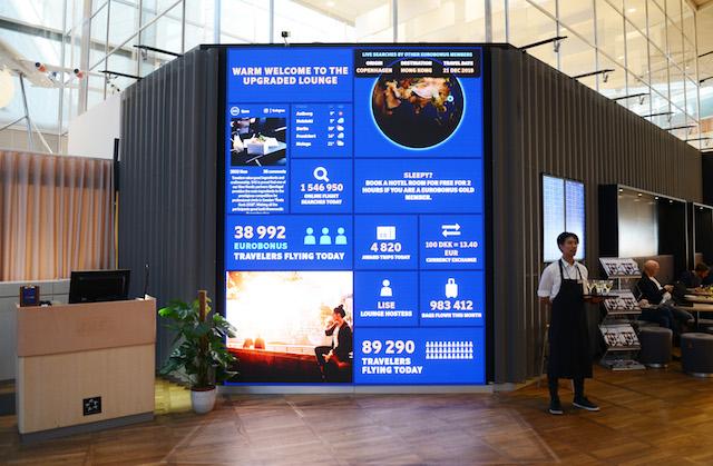 SAS-loungen i Københavns Lufthavn. Foto: Joakim J. Hvistendahl