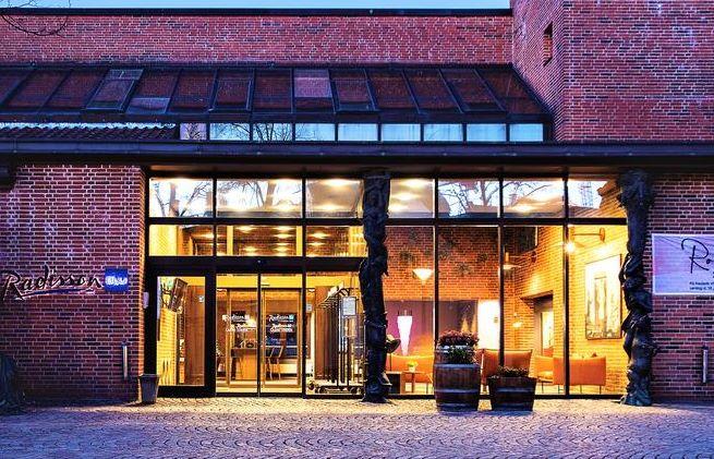 Det nuværende Radisson Blu H.C. Andersen Hotel i Odense bliver fra årsskiftet til Comwell H.C. Andersen Odense. Foto via Comwell Hotels.