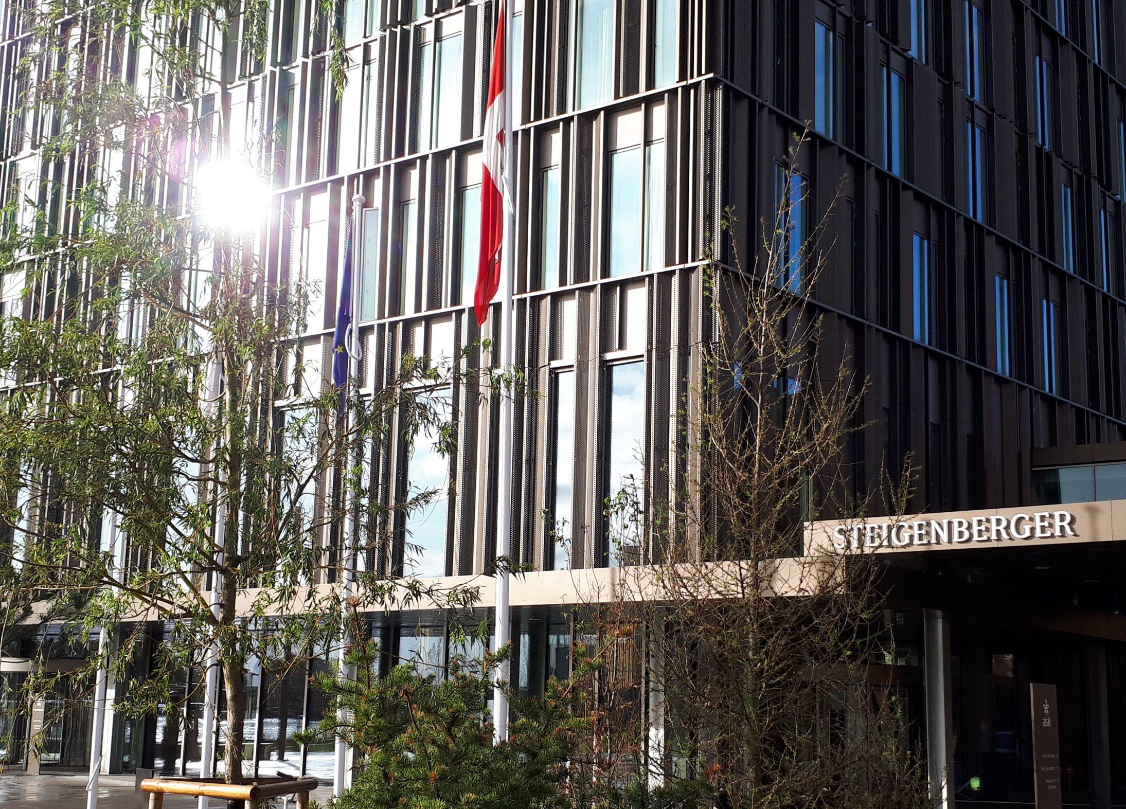 Den tyske hotelkæde Deutsche Hospitality er netop blevet købt af kinesiske Huazhu Group – blandt varemærkerne hos Deutsche Hospitality er Steigenberger, der foreløbig driver ét hotel i Danmark,Steigenberger Alsik – Hotel & Spa i Sønderborg. Foto: Henrik Baumgarten.