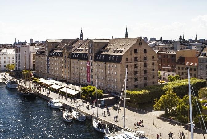 Copenhagen Admiral Hotel ved Københavns Havn er blevet solgt for formentlig et milliardbeløb til svenske Midstar Hotels. Arkivfoto.