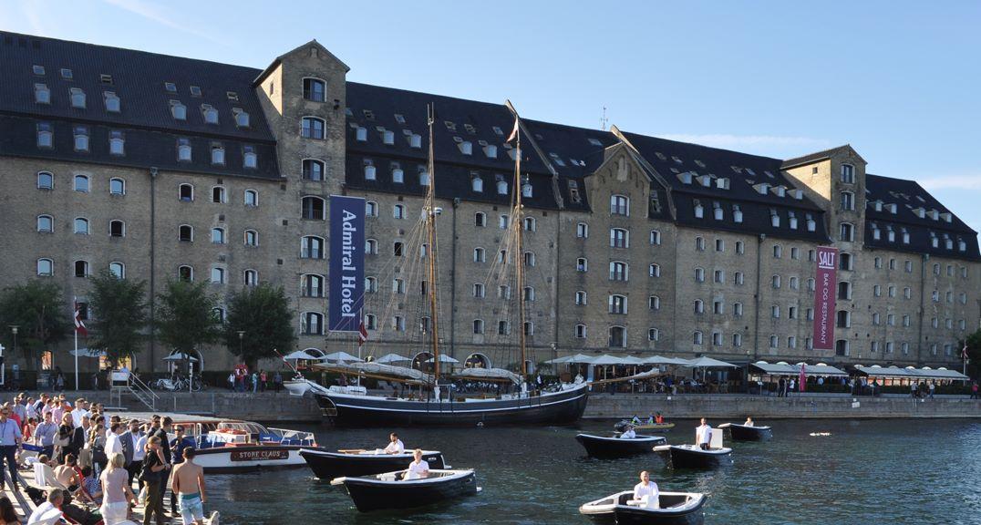 Admiral Hotel åbnede i 1978 i et pakhus, der i 1787 blev opført som korntøringsmagasin. Hotellet er netop solgt for et anslået milliardbeløb til den svenske kapitalfond Midstar Hotels. Hotellets direktør er blandt Danmarks rigeste hotelfolk. Pressefoto: Copenhagen Admiral Hotel.