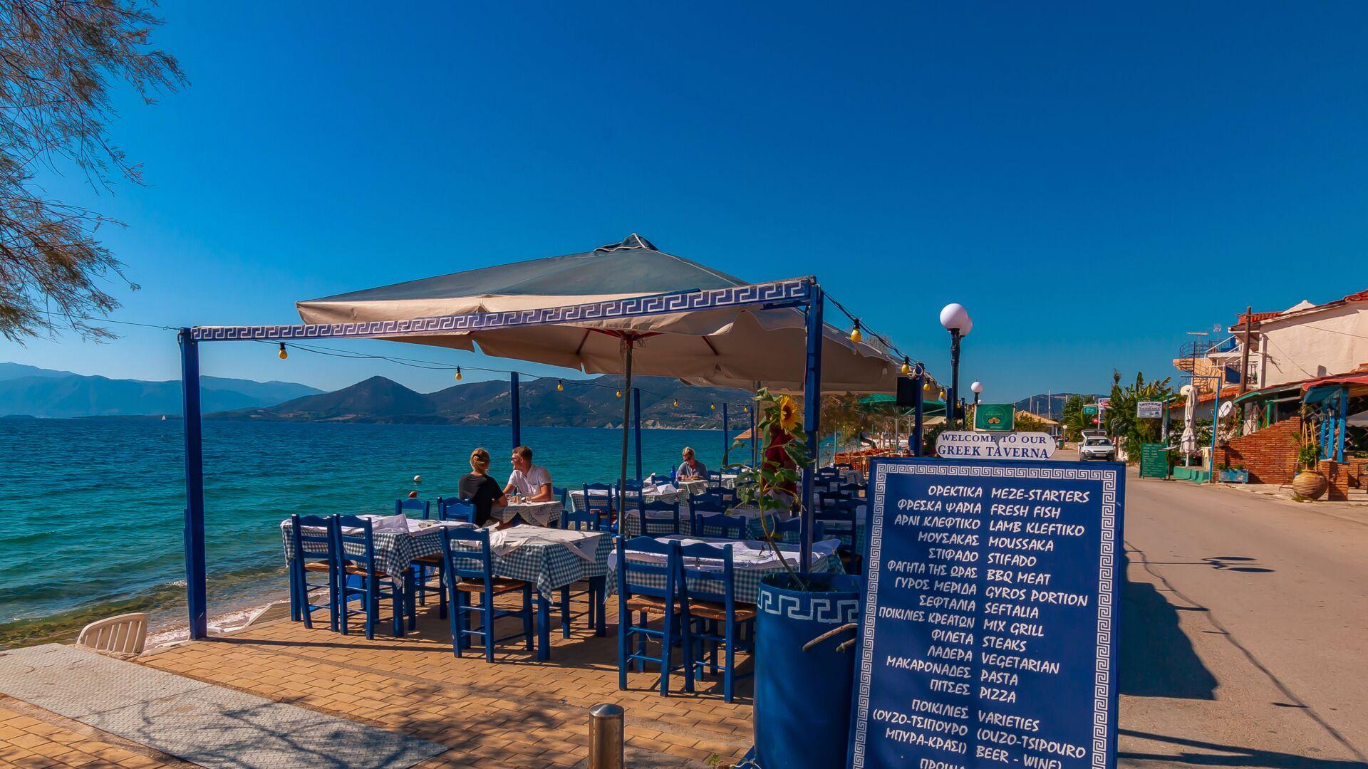 Grækenland er største rejsemål for danske Primo Tours. Charterrejsebureauet lancerer næste år Paleros på vestkysten af det græske fastland som nyt rejsemål med en ugentlig flyvning fra Billund Lufthavn med Atlantic Airways. Pressefoto via Primo Tours.