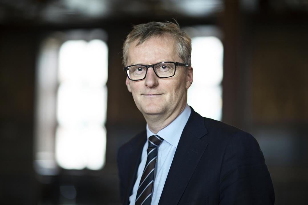 Viceadministrerende direktør i Dansk Erhverv,Laurits Rønn, vil kontakte Horesta forud for næste års overenskomstforhandlinger. Pressefoto: Dansk Erhverv.