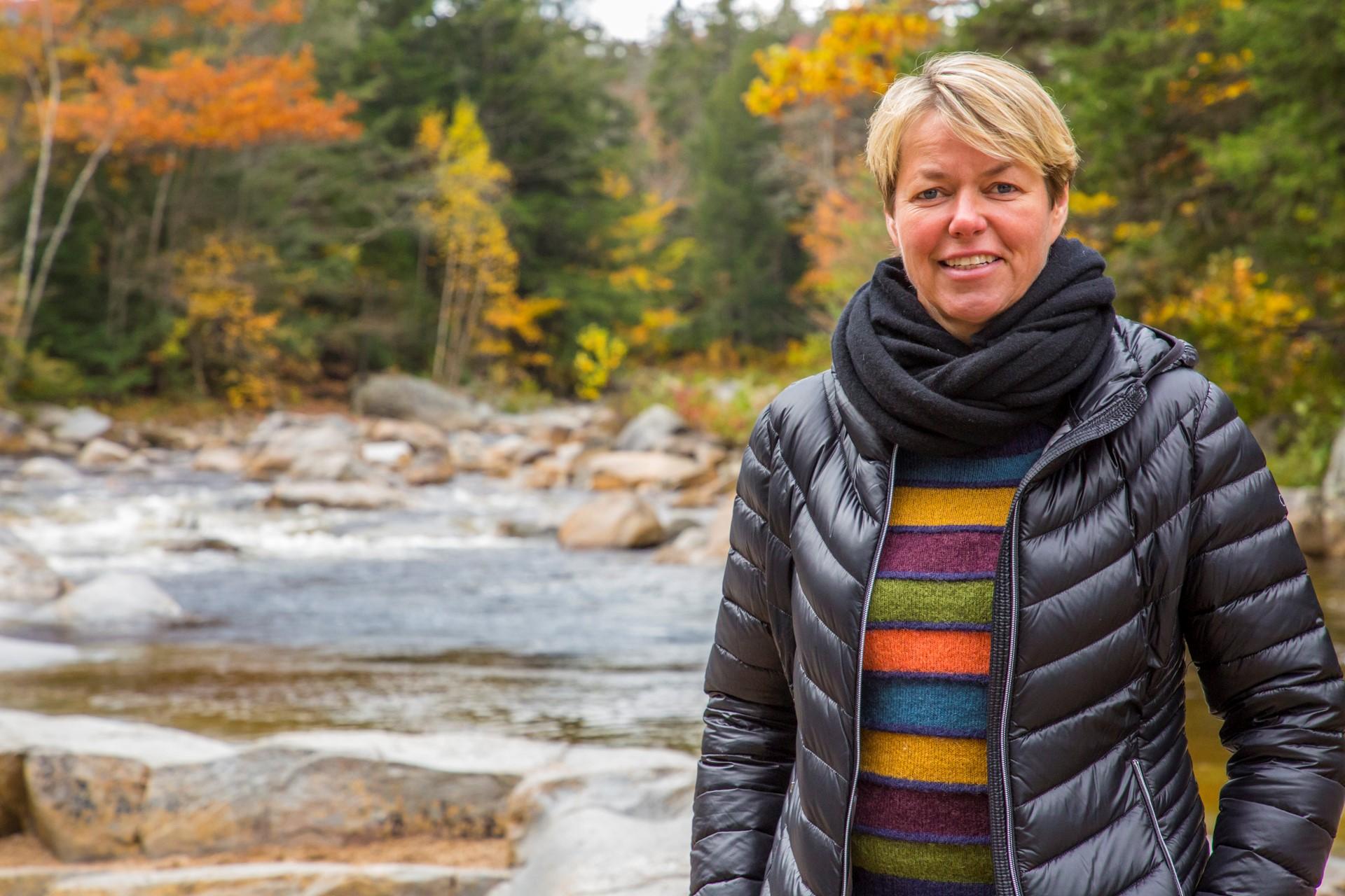Anne-Vibeke Isaksen, hvis rejseprogrammer har inspireret masser af danskere til at komme ud i verden. Foto: Rasmus Schønning.