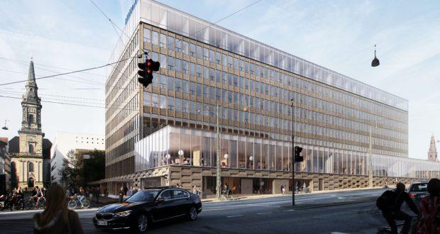 ATP Ejendomme har stoppet samarbejdet med BC (Bella Center) Hospitality Group om det ellers planlagte Hilton Copenhagen City, der skulle være åbnet i sommeren 2021. Sådan skulle ejendommen ellers have set ud. Illustration via: NCC Engineering og Arkitema Architects.