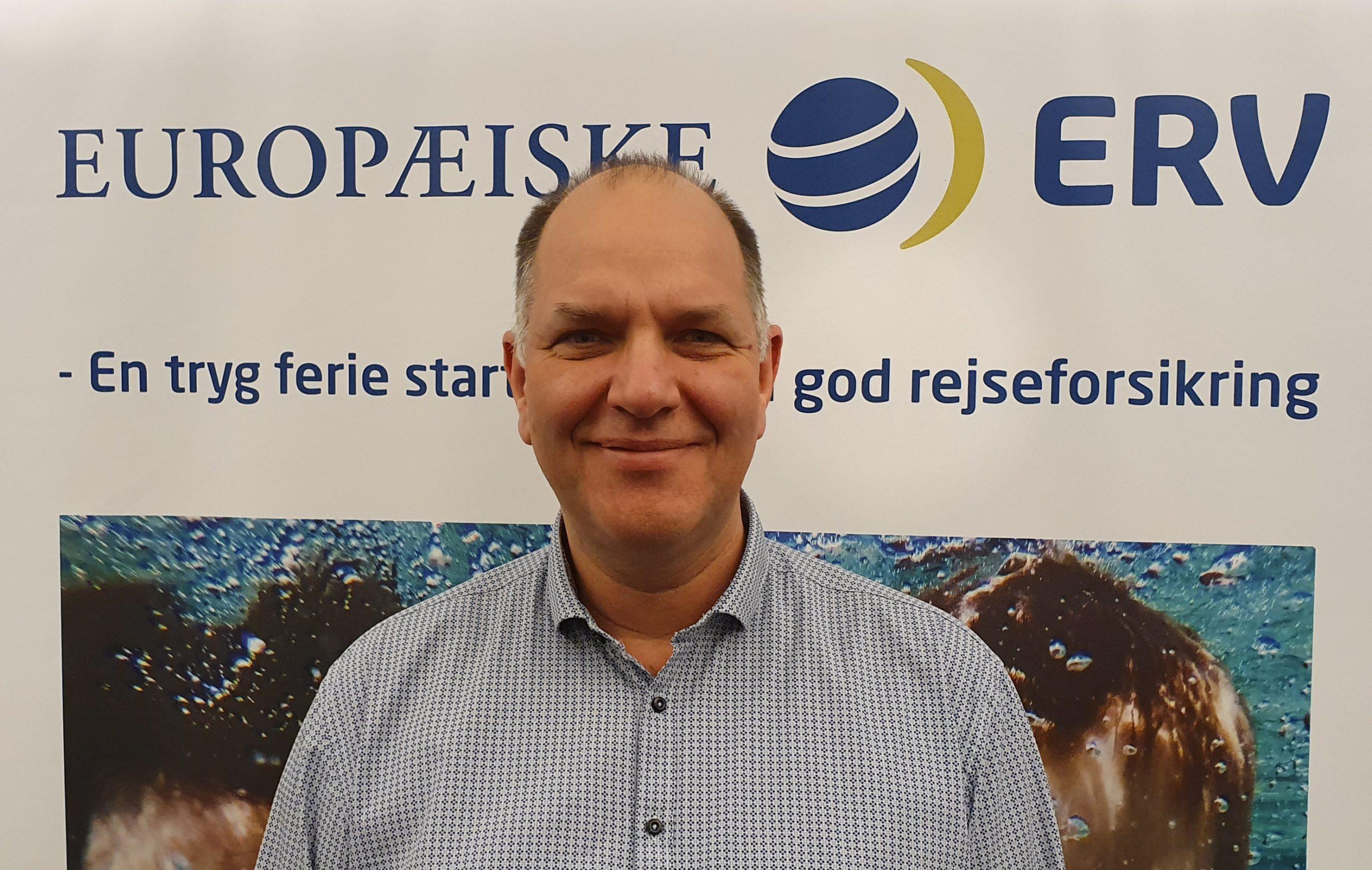 Kristian Sveigaard, der kom til Europæiske ERV, Europæiske Rejseforsikring, i april 2017 er blevet forfremmet til sales manager i Danmark. På det danske marked afløser han nordisk salgsdirektør Bjørn Cronquist, der har forladt den store virksomhed. Foto: Europæiske ERV.