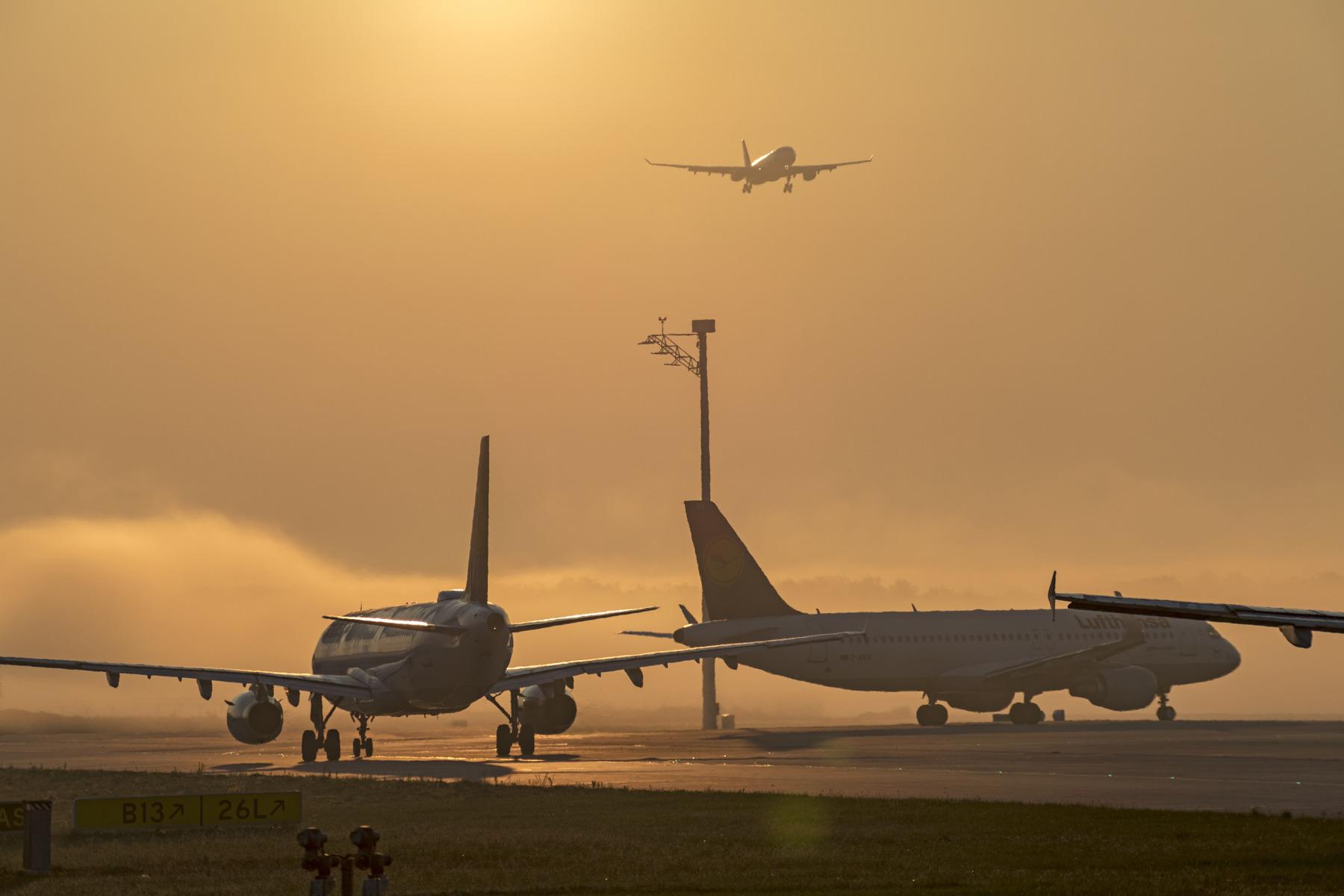 Dansk Flyprisindex foretager hver måned et pristjek på flybilletter og kan dermed finde de billigste flyruter fra Billund og København ud i Europa og resten af verden. Her arkivpressefoto fra lufthavnen i München.