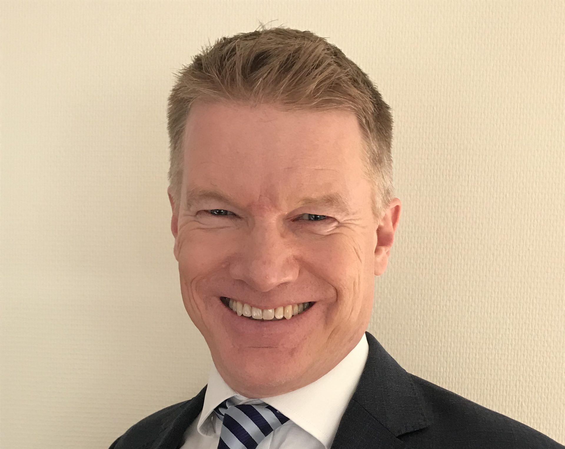 Richard Stone forlader jobbet hos Scandic Hotels som salgsdirektør for internationalt leisuresalg til fordel for det danske rederi DFDS, hvor han skal være Head of Field Sales. Foto via DFDS.