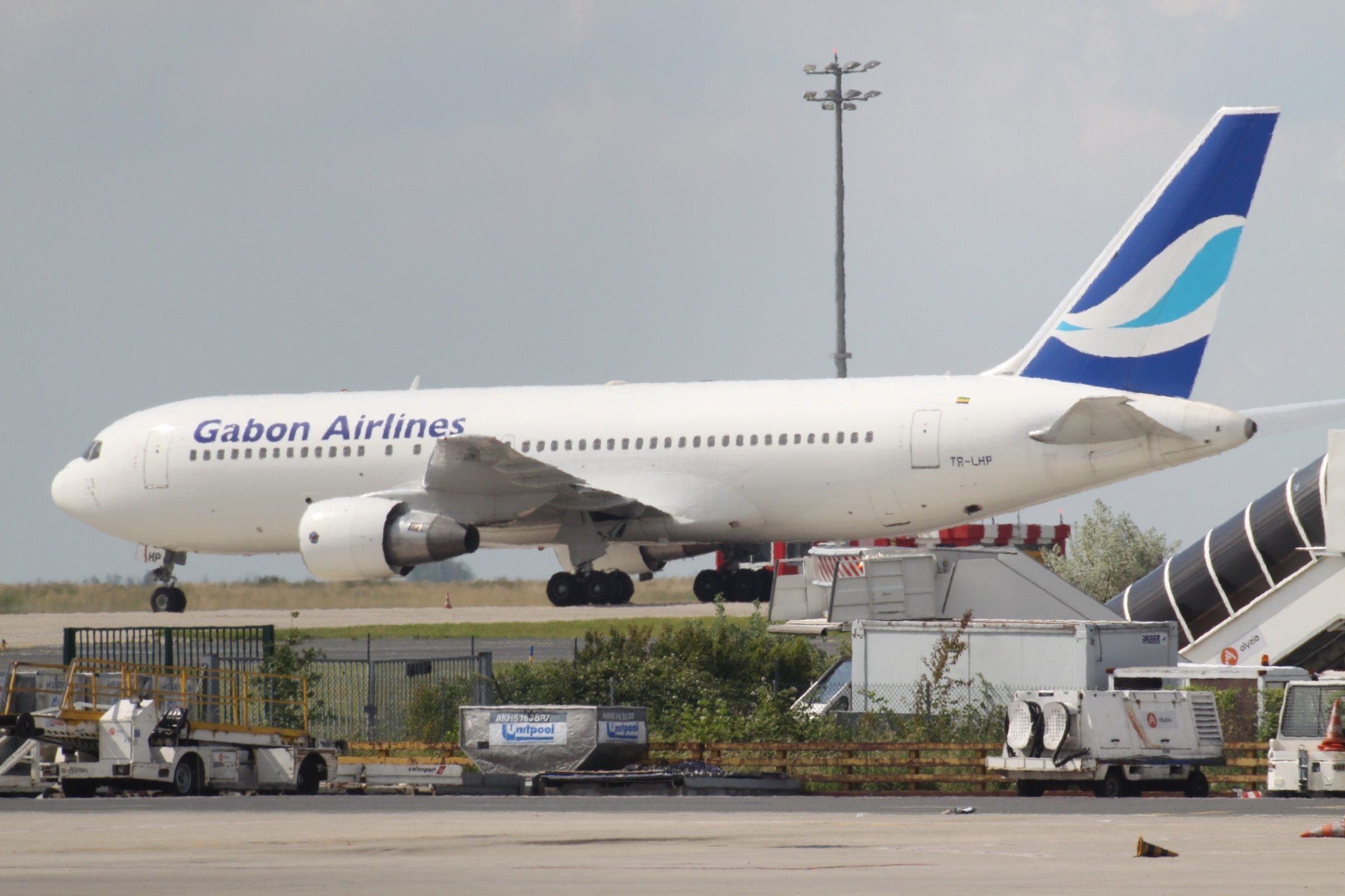 Boeing 767 fra Gabon Airlines. (Foto: Aeroprints.com | CC 3.0)