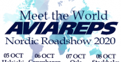 5-8 oktober 2020 – Meet the World Aviareps Nordic Roadshow 2020