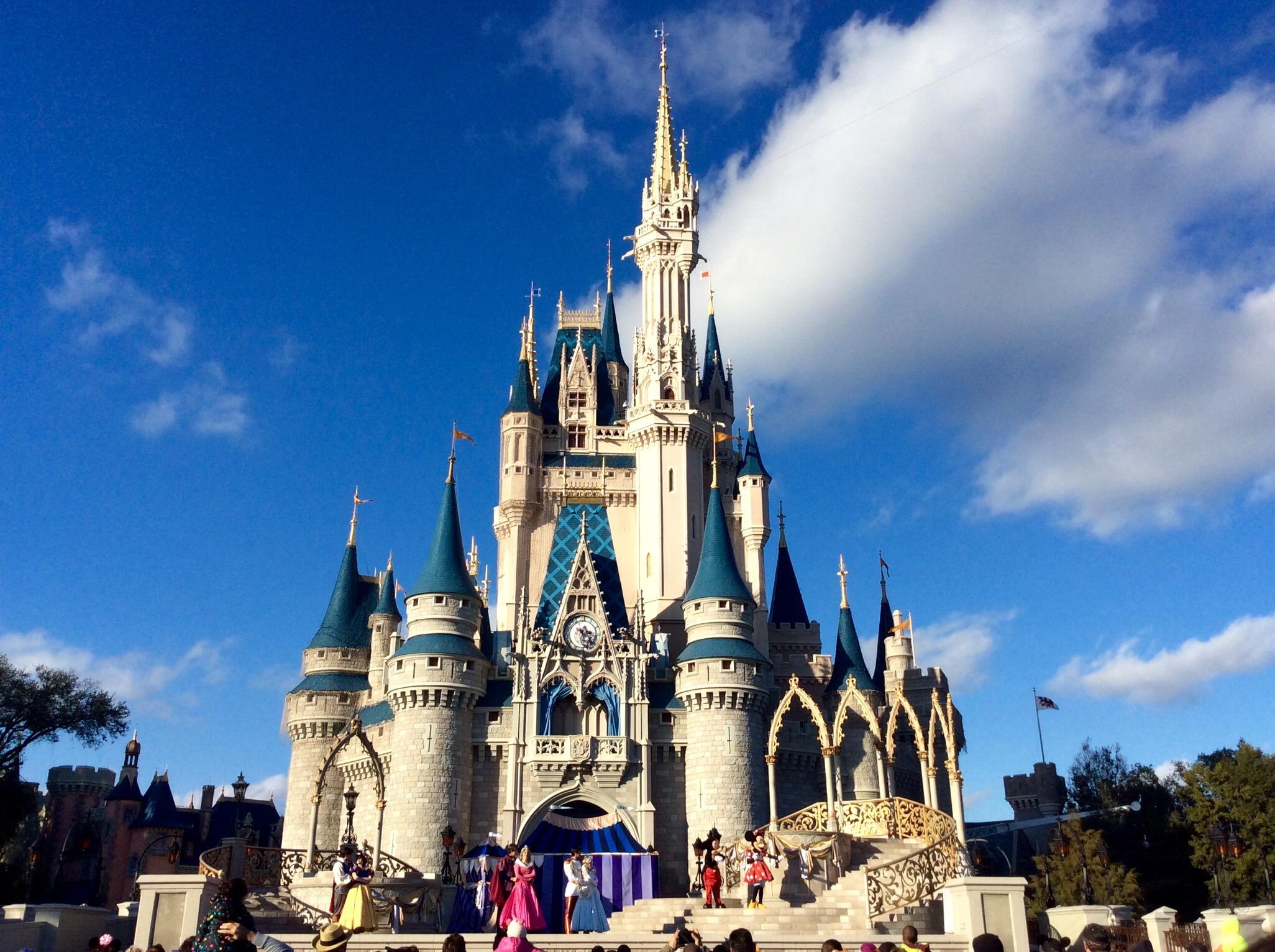 Disney World i Florida er en af USA's største turistattraktioner. Foto via Wikipedia: Jedi 94.