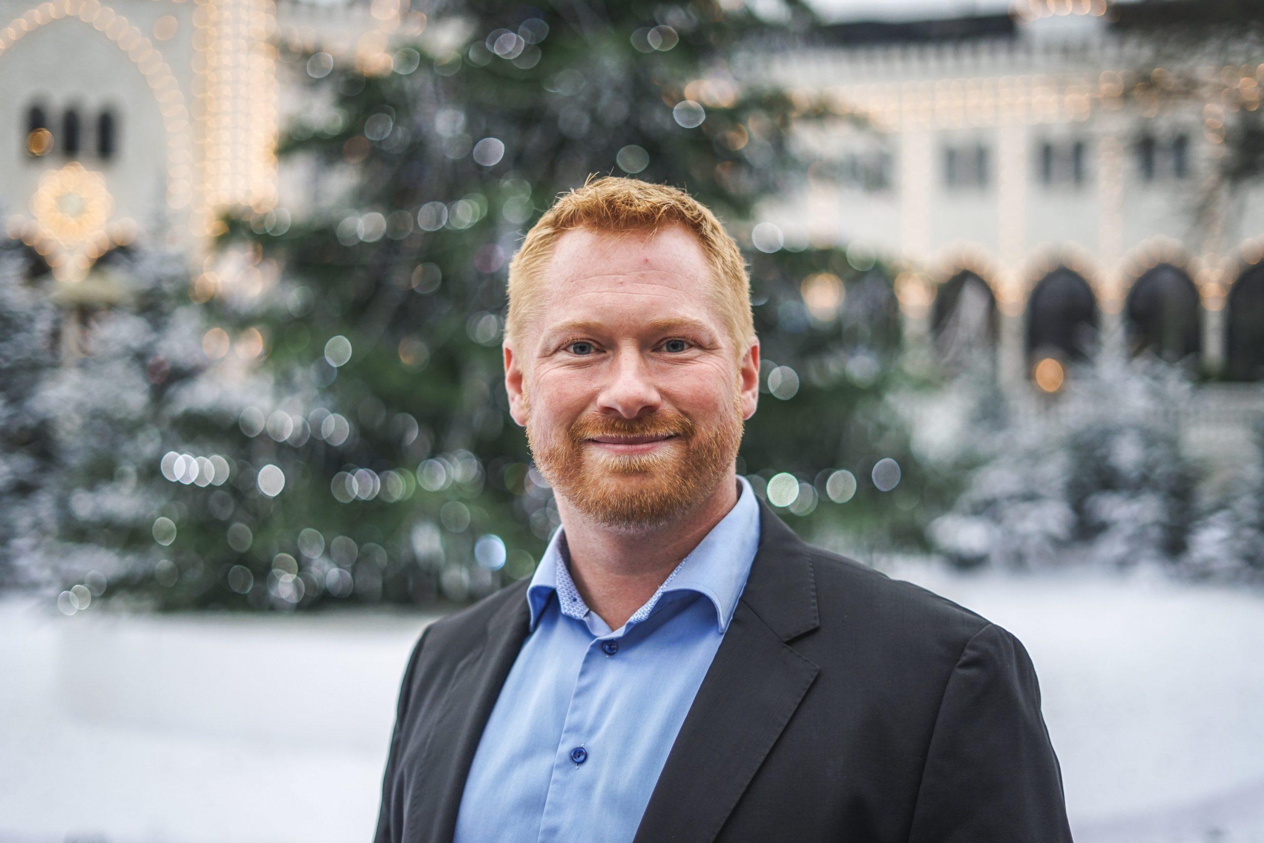 Den 37-årige ingeniør Christian Dahl Melchiorsen er netop tiltrådt som ny underdirektør i Tivoli med ansvar for forretningsområdet Byg. Foto: Tivoli.
