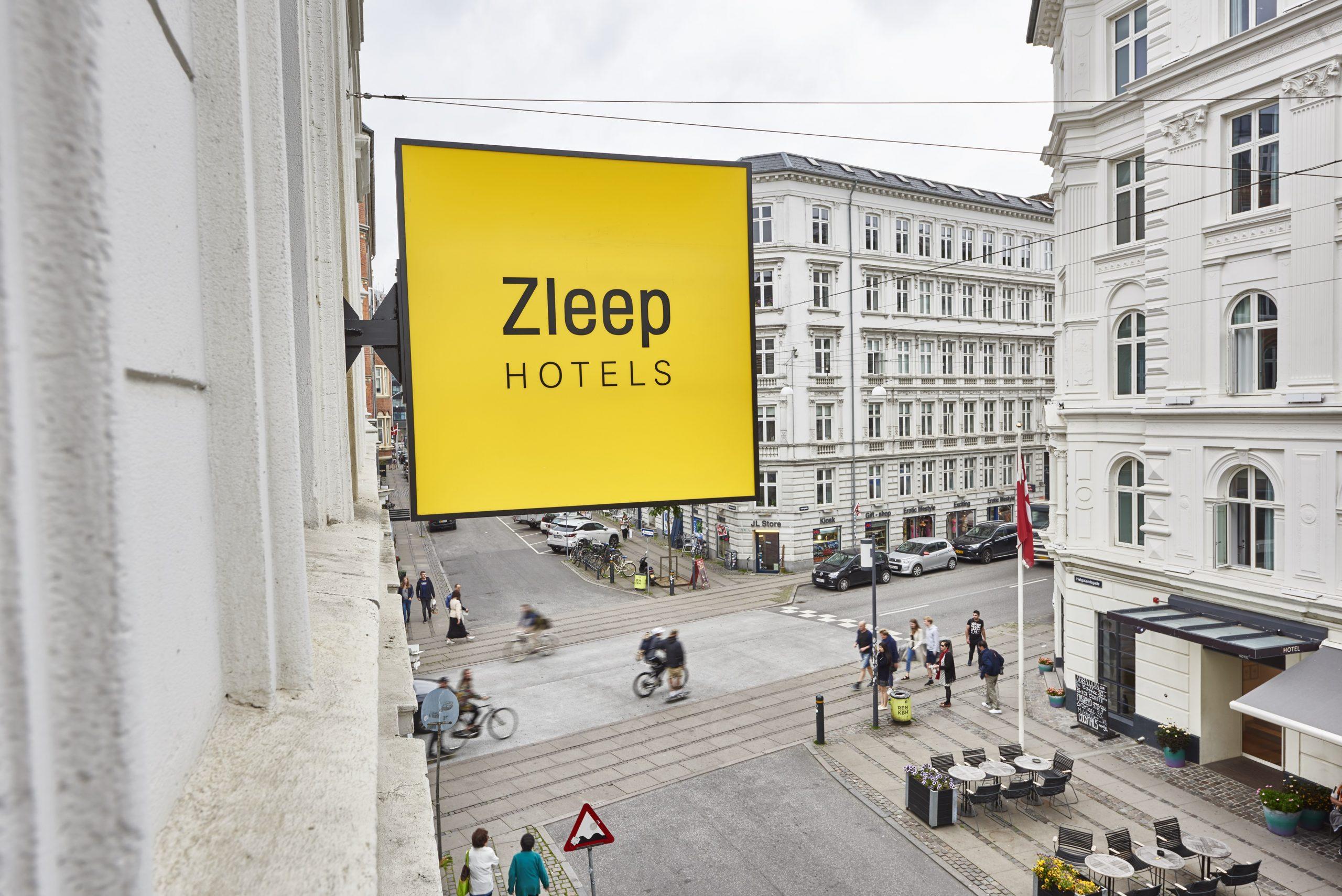 Zleep Hotels åbner for første gang syd for Danmark. Premieren udenfor Skandinavien bliver i ved Madrids hovedlufthavn, hvor åbningen lige nu siger sommeren 2021. Arkivfoto fra Zleep Hotels.