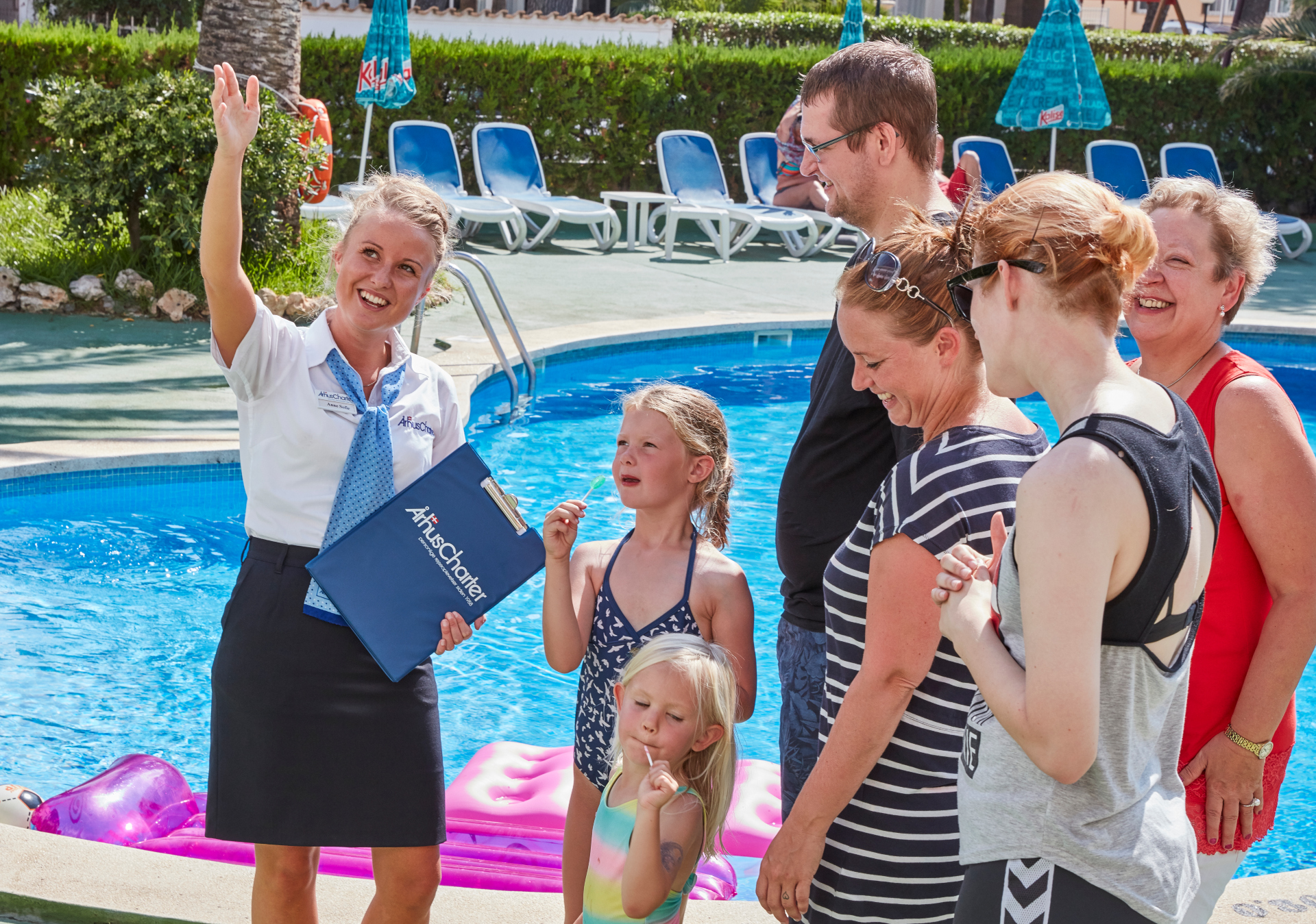 De danske charterarrangører i brancheforeningen RID sendte igen sidste år over en million gæster på ferie. Arkivpressefoto fra Århus Charter.