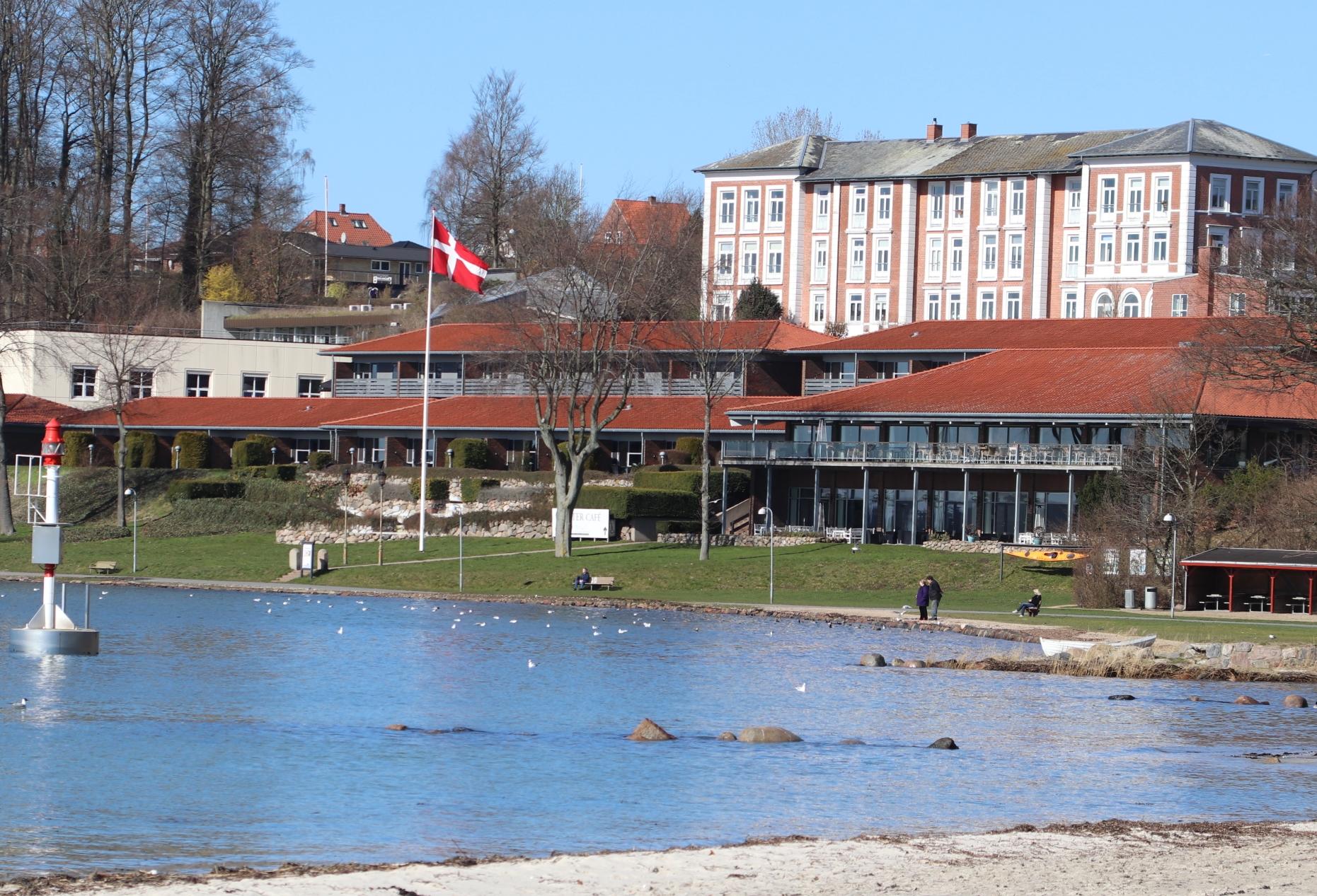 Fagforeningen HK Danmark har netop fyret direktøren for sit firestjernede Hotel Christiansminde på Sydfyn. Fremsendt pressefoto fra Hotel Christiansminde.