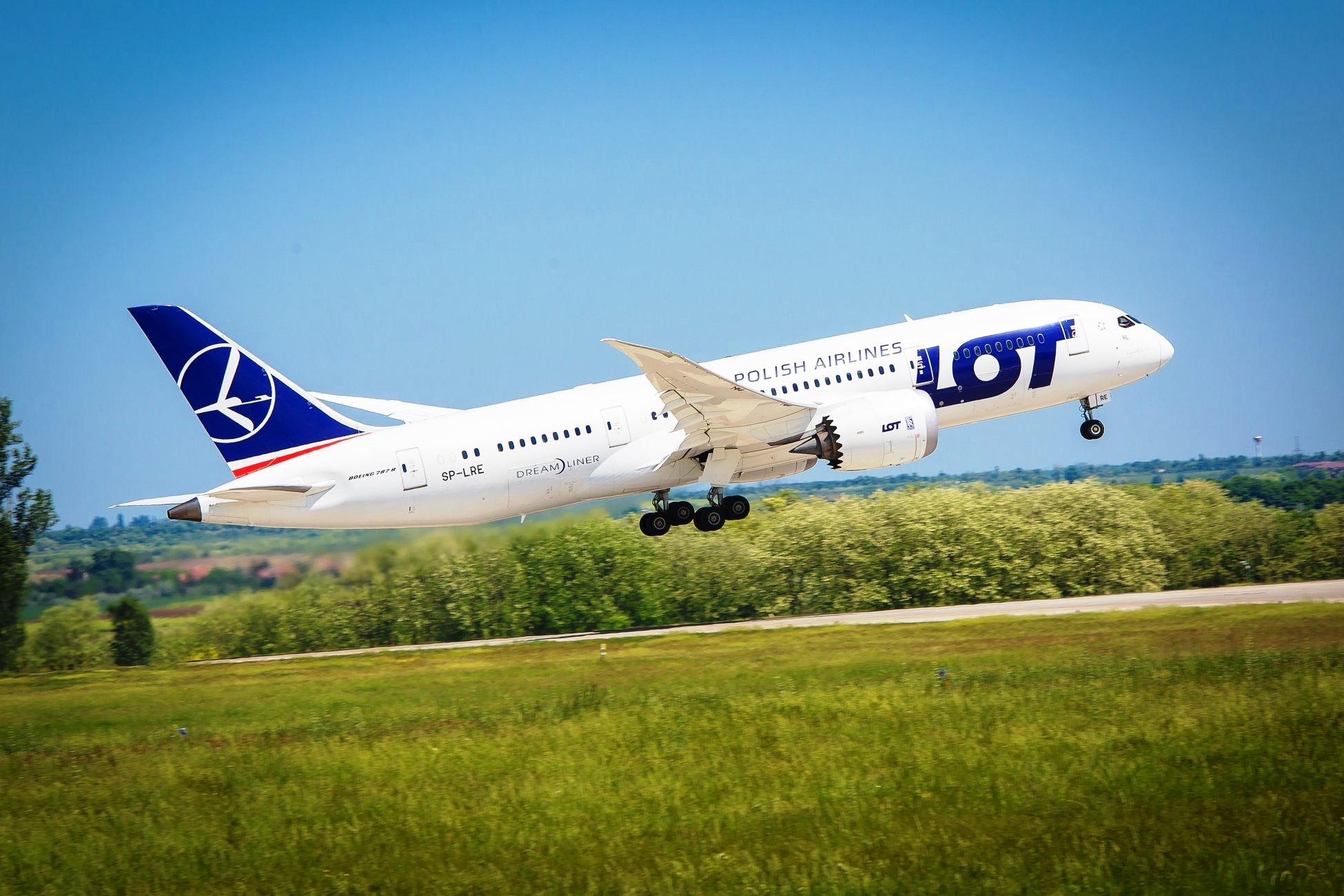 LOT Polish Airlines åbner 2. juni ny rute til USA – denne gang til hovedstaden Washington DC. Der flyves tre gange om ugen med en Boeing B787 Dreamliner. Pressefoto: LOT.