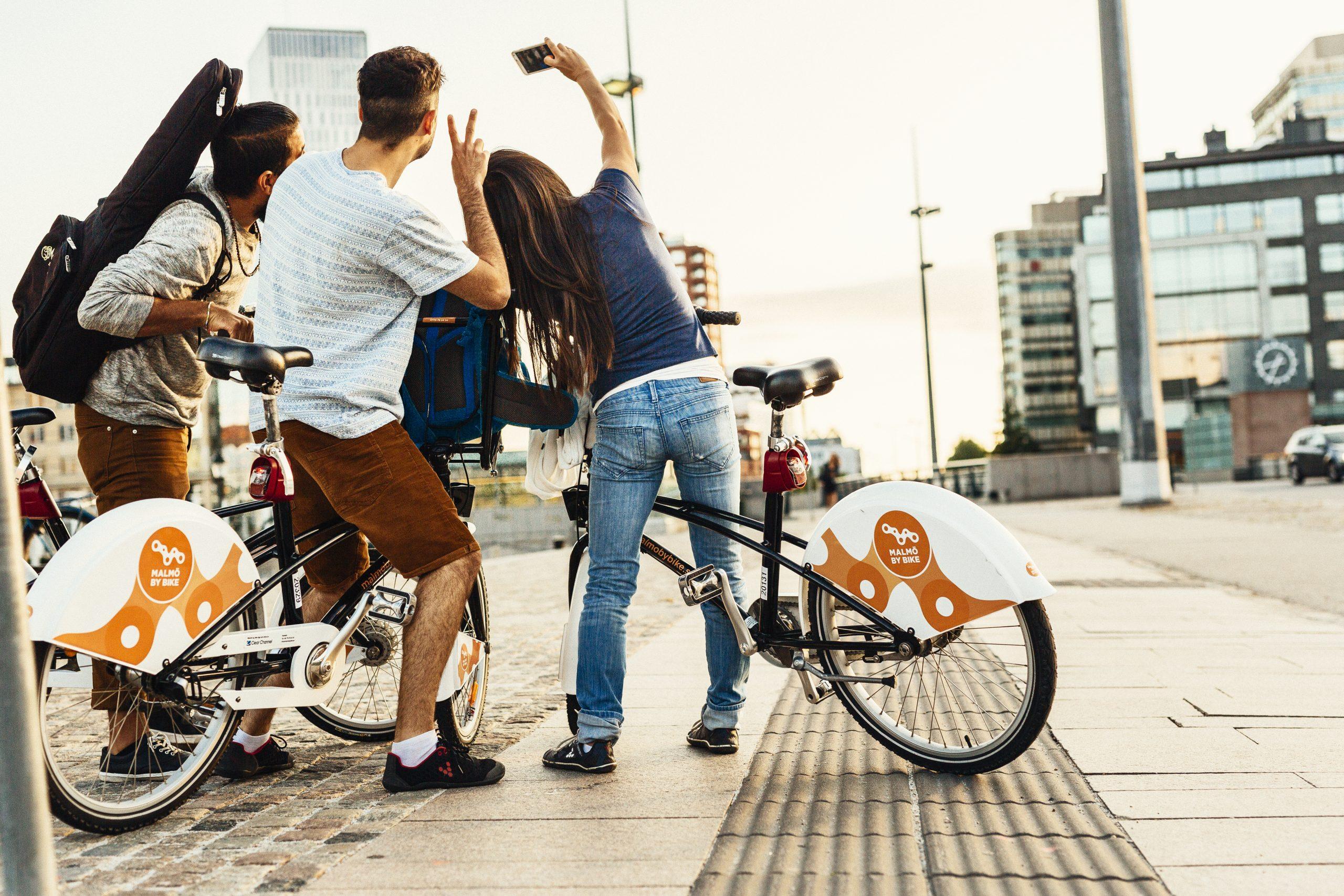 Influencers der i år inviteres til Malmø skal komme til byen med andre transportformer end fly. Pressefoto: Malmö Tourism.