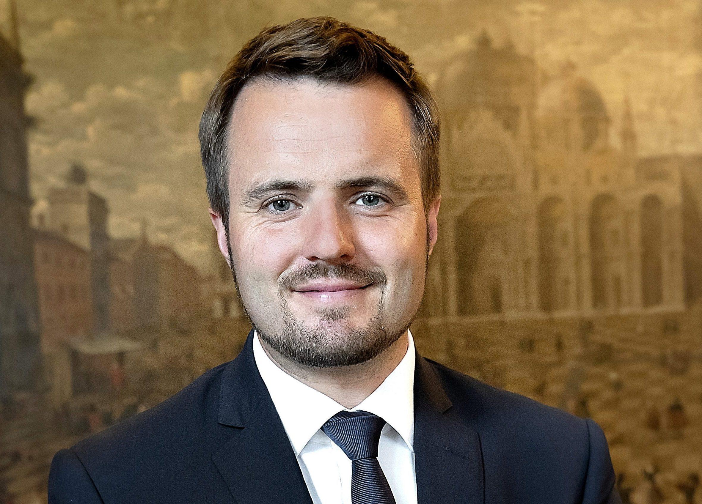 """""""Danmark skal være en af verdens mest bæredygtige turistdestinationer,"""" lyder det fra erhvervsminister Simon Kollerup, der også er turismens minister. Pressefoto: Keld Navntoft."""