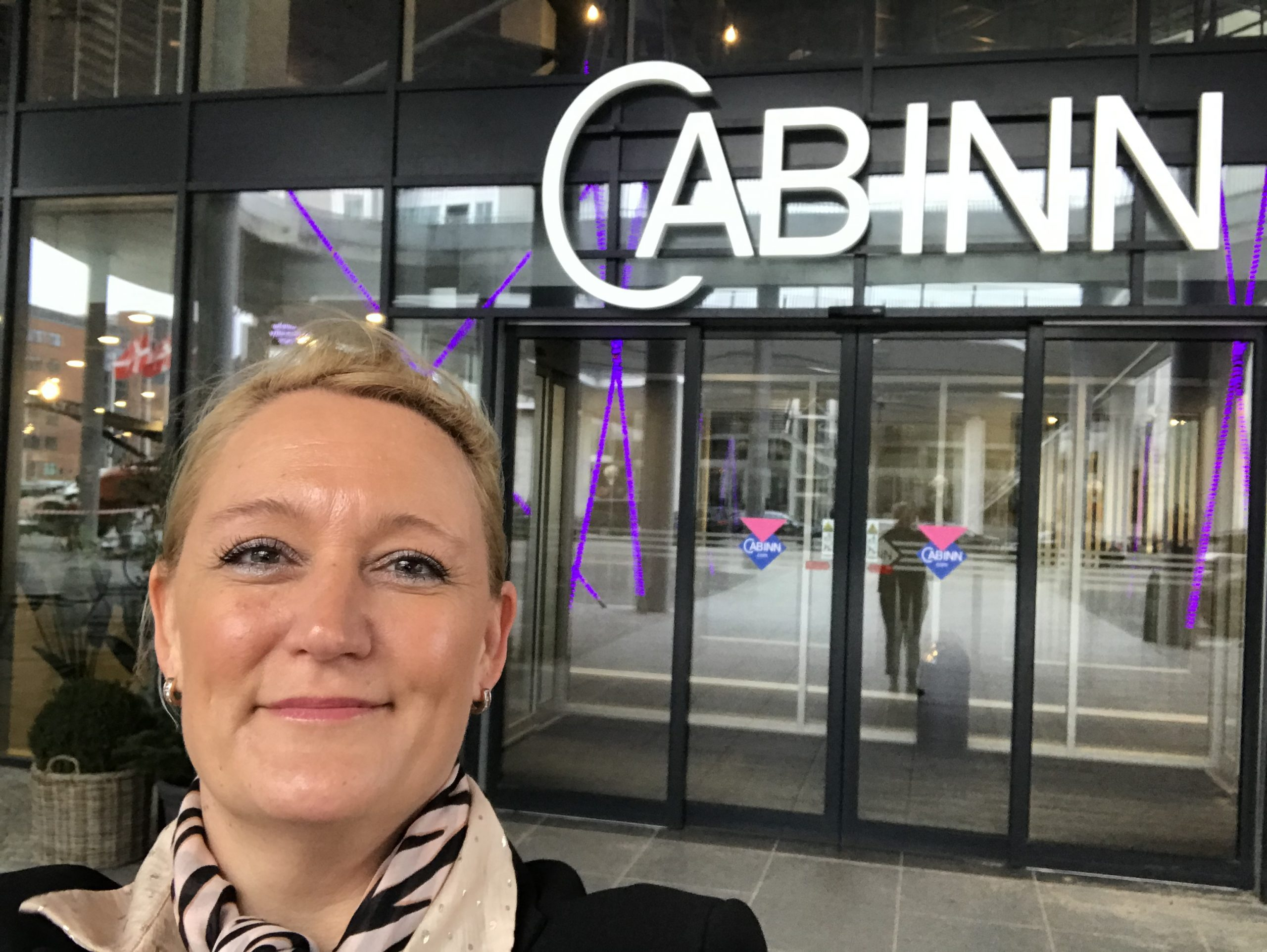 Benedikte Sørensen er netop begyndt som hotel manager på CabInn Copenhagen. Privatfoto.