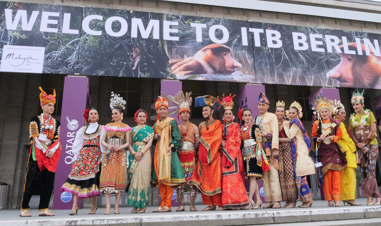 Verdens største messe for rejse- og turismebranchen, ITB i Berlin, er aflyst. Den årlige messe skulle være afviklet onsdag til søndag i den kommende uge. Arkivpressefoto fra Messe Berlin, Tom Maelsa.