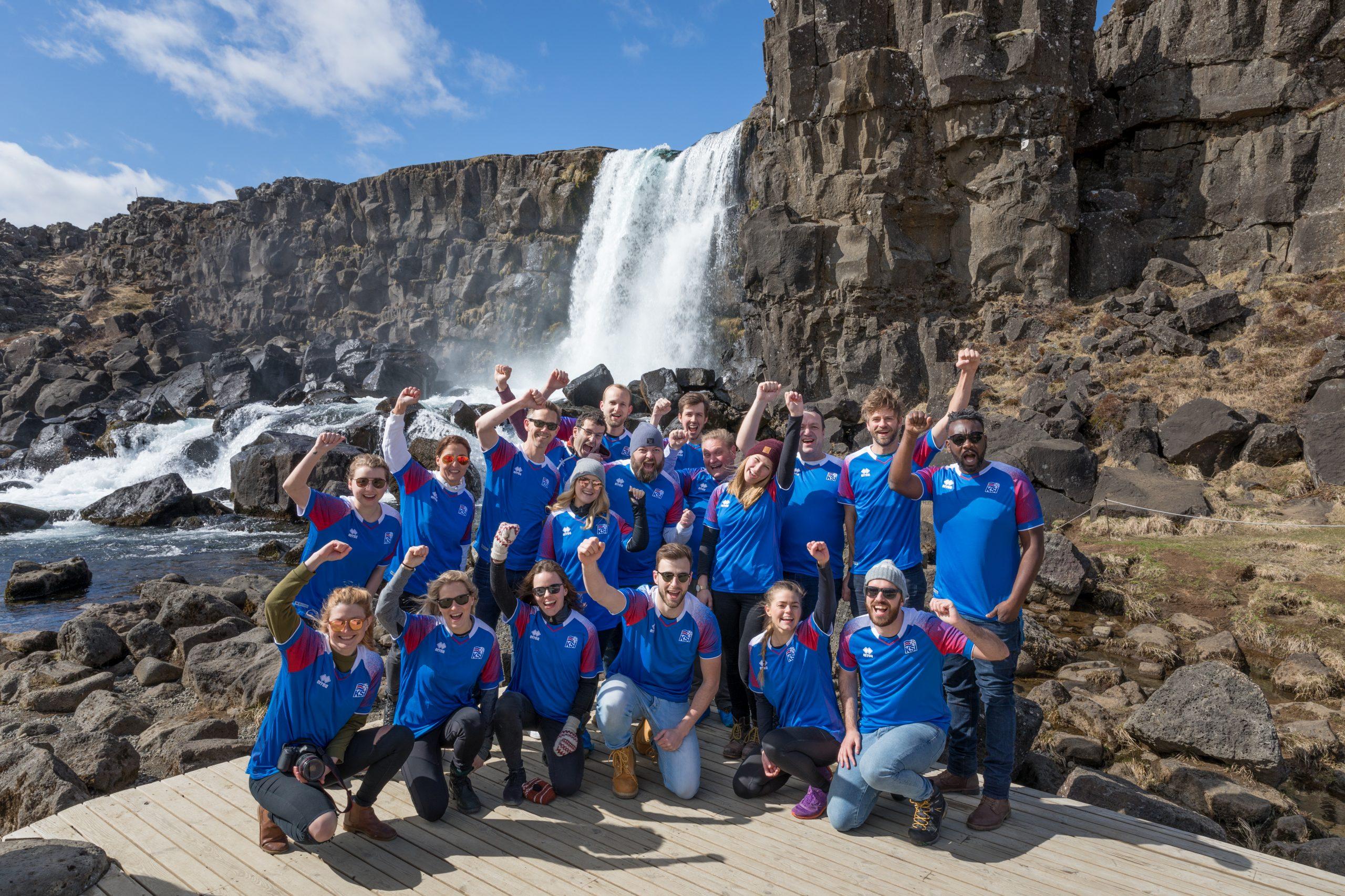 Icelandair er ikke kun Islands største flyselskab, der er også sagaøens største aktør indenfor turisme. Her PR-foto fra Icelandairs stopover-kampagne.