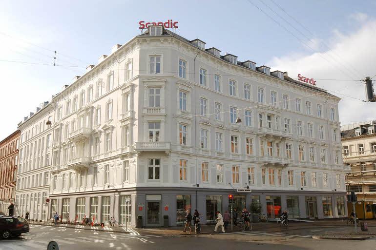 I første omgang bliver det kun Scandic-hotellet Webers i København som bliver til et Scandic Go i Danmark, kædens nye varemærke. Arkivfoto fra Scandic Hotels.