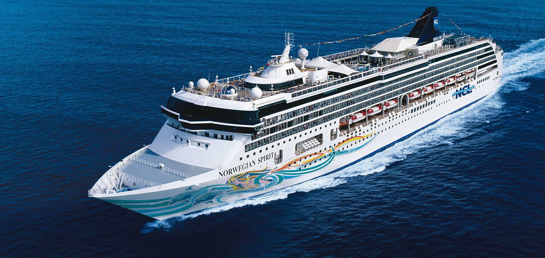 Norwegian Cruise Line har netop brugt 700 millioner kroner på en storstilet renovering af Norwegian Spirit, der med kort varsel er blevet omdirigeret til nu at have base gennem sommeren i det østlige middelhav. PR-foto: Norwegian Cruise Line.