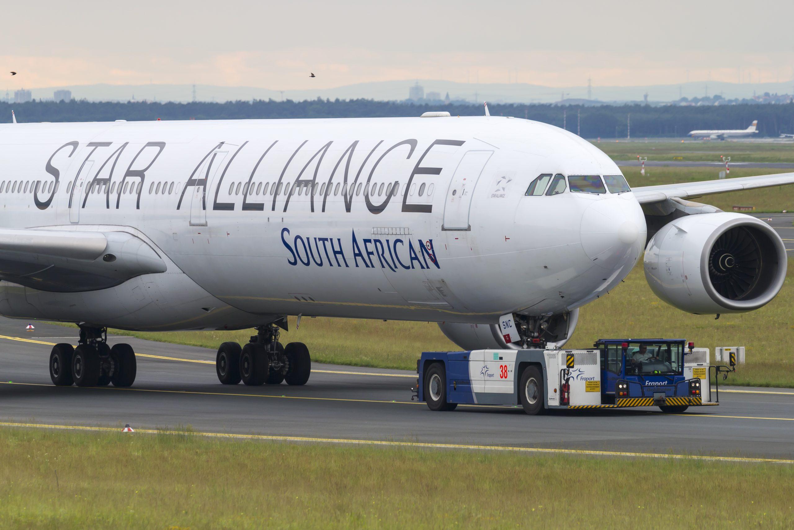 South African Airways har i årevis været udfordret af en dårlig økonomi og kom i december sidste år i en slags kontrolleret betalingsstandsning, business rescue-proces. Arkivfoto: © Thorbjørn Brunander Sund, Danish Aviation Photo.