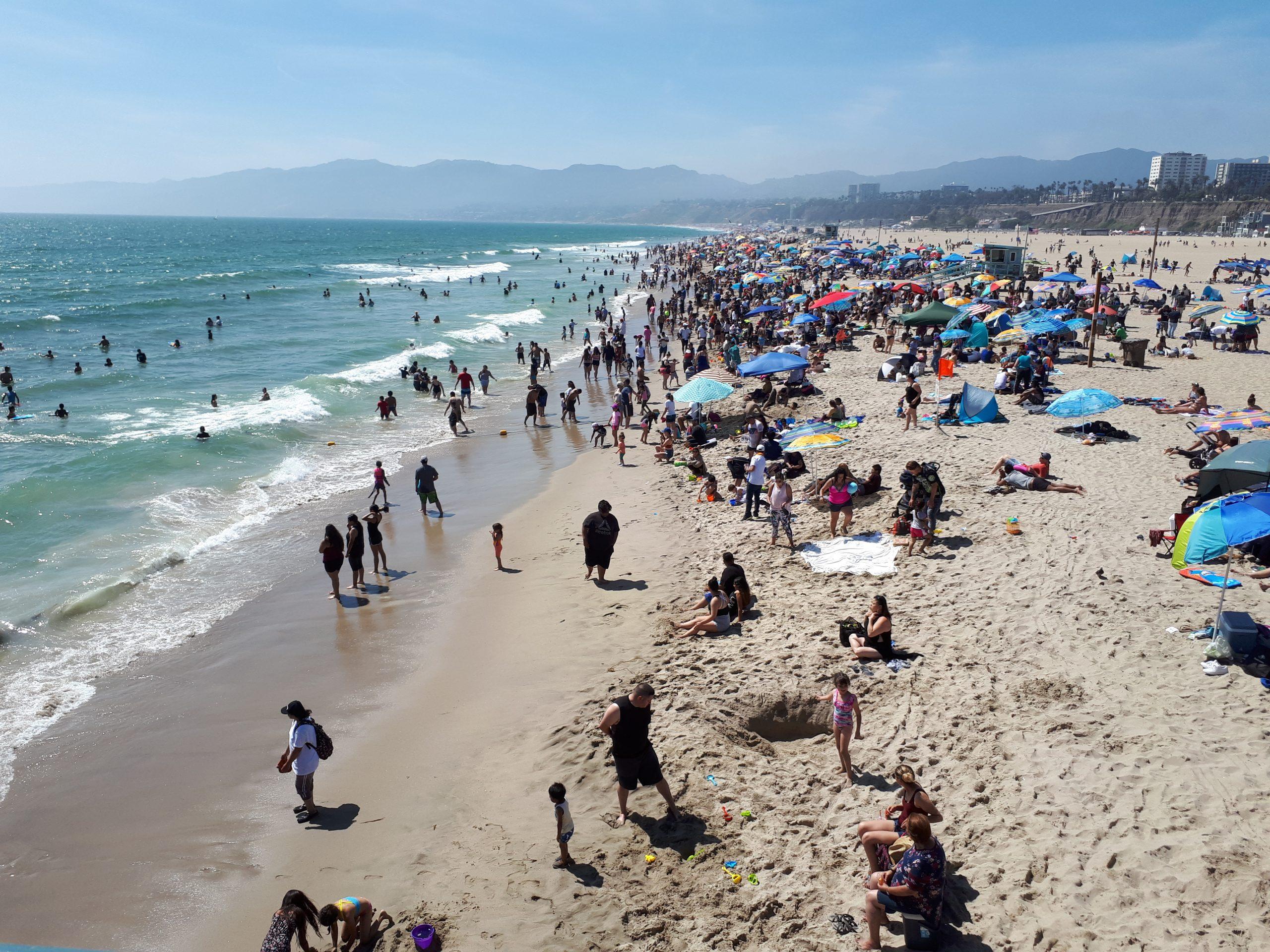 """Udenrigsministeriet og Sundhedsstyrelsen har udsendt beroligende pressemeddelelse for at nedtone utrygheden ved udlandsrejser i forbindelse med coronavirus. """"Corona bør ikke få nogen til at stoppe deres ferieplanlægning,"""" hedder det blandt andet. Arkivfoto fra Californien, Henrik Baumgarten."""