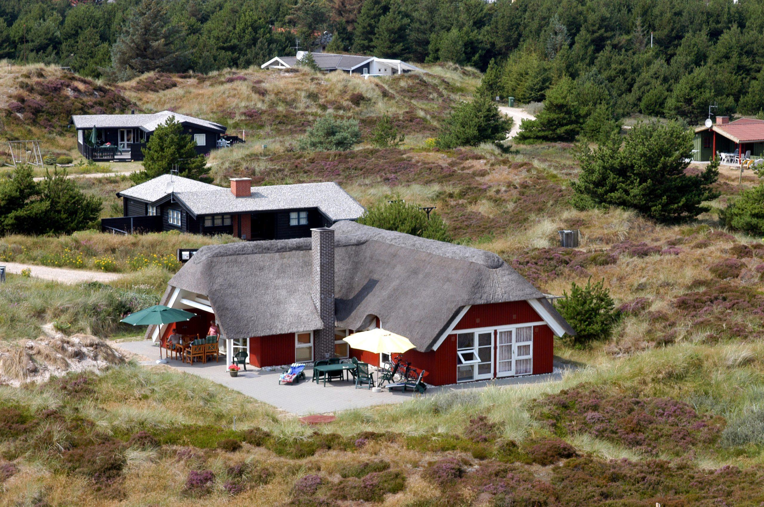 Overnatninger i danske sommerhuse og ferieboliger er den overnatningsform, flest udenlandske turister benytter sig af i Danmark. Arkivpressefoto: VisitDenmark.