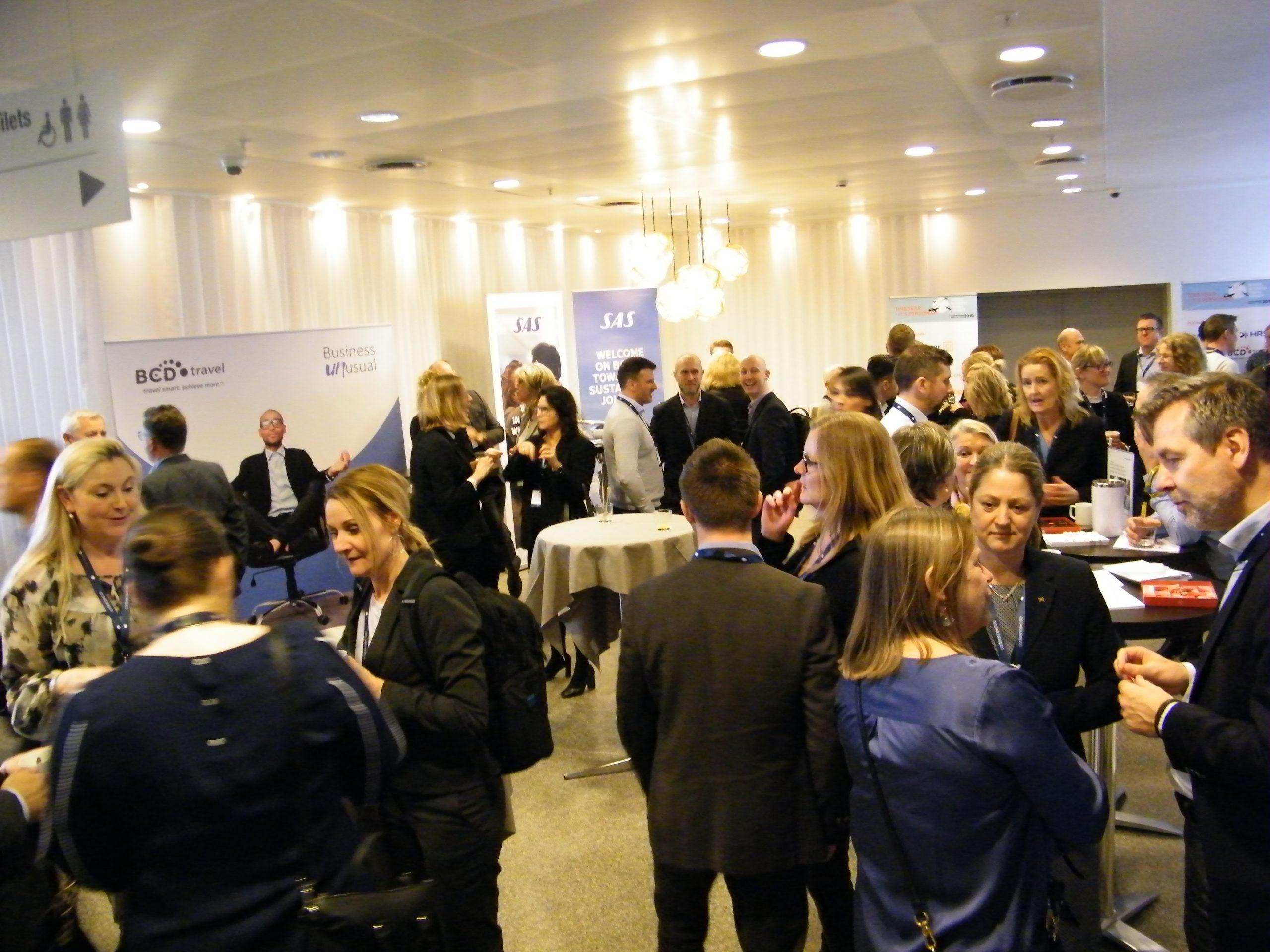 Årets Nordic Business Travel Summit er blevet aflyst. Det skulle være holdt næste uge i Stockholm. Her foto fra sidste års NBTS, der blev holdt i København. Foto: Henrik Baumgarten.