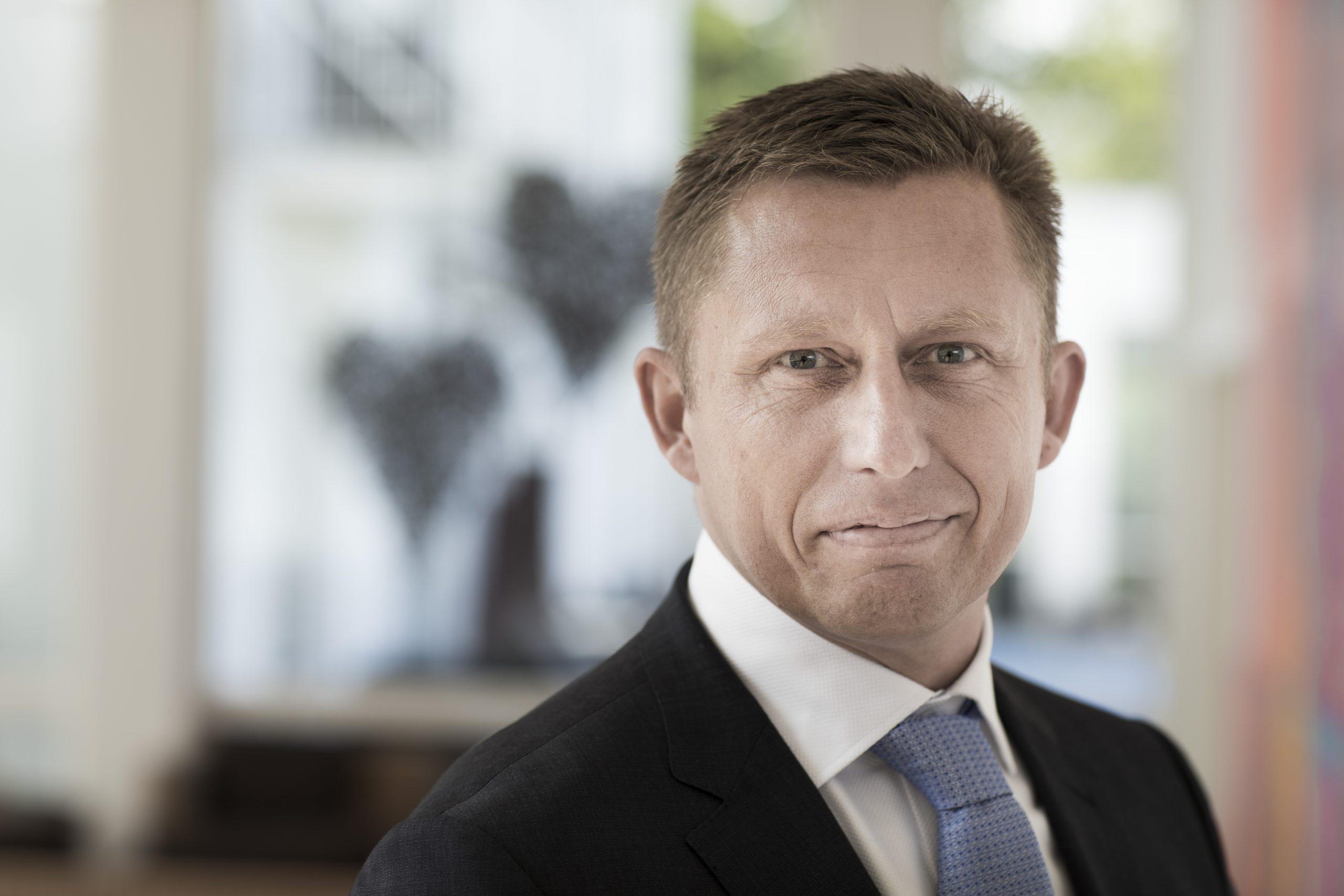 Peter Schelde, koncernchef for danske Comwell Hotels, der blandt andet søger at ride krisen af ved at lukke otte ud af sine 15 danske hoteller og konferencecentre ligesom kæden netop har varslet 250 opsigelser blandt de fastansatte. Arkivfoto fra Comwell Hotels.