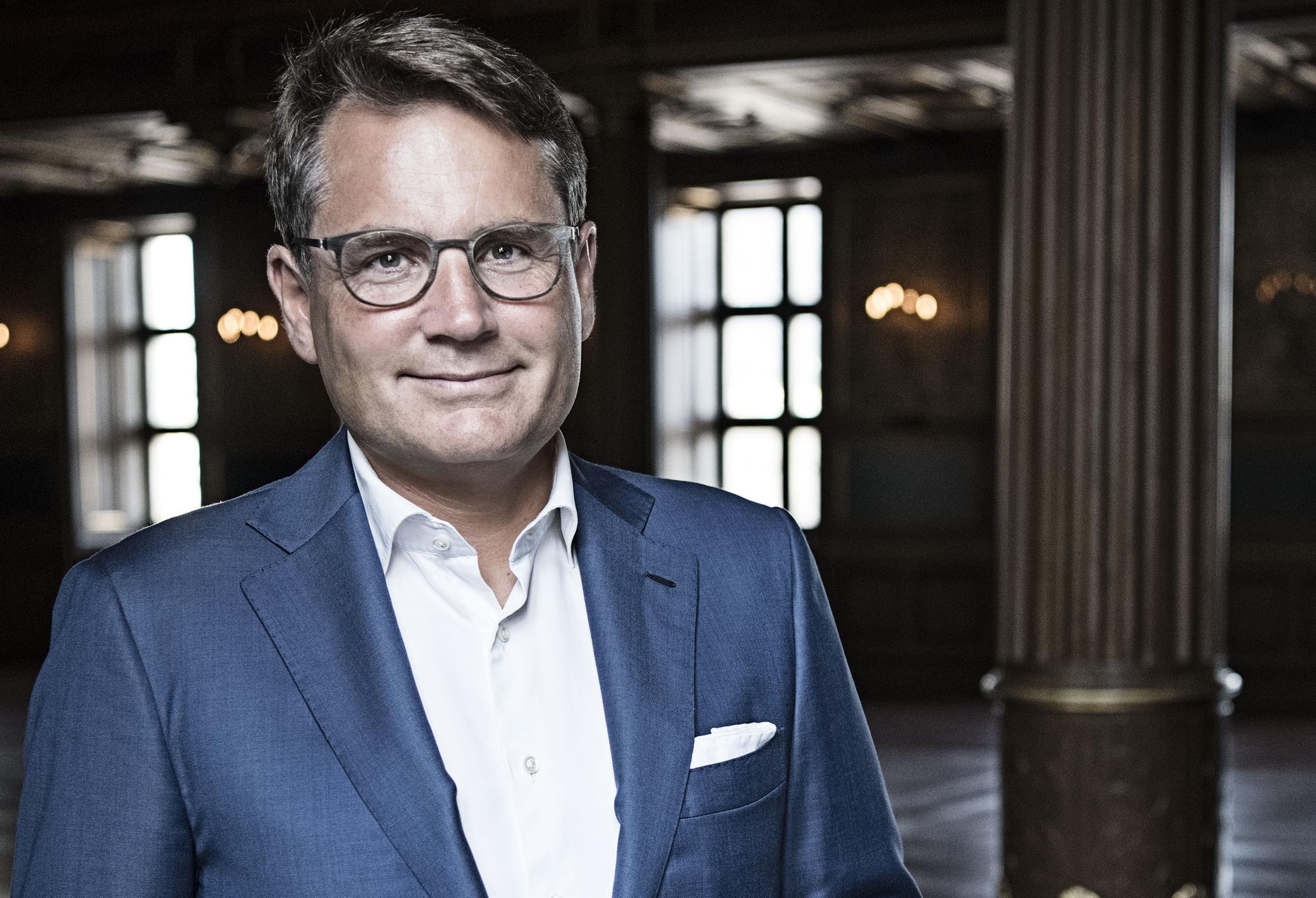 Dansk Erhvervs adm. direktør, tidligere økonomi- og erhvervsminister Brian Mikkelsen. Pressefoto: Helle Moos for Dansk Erhverv.