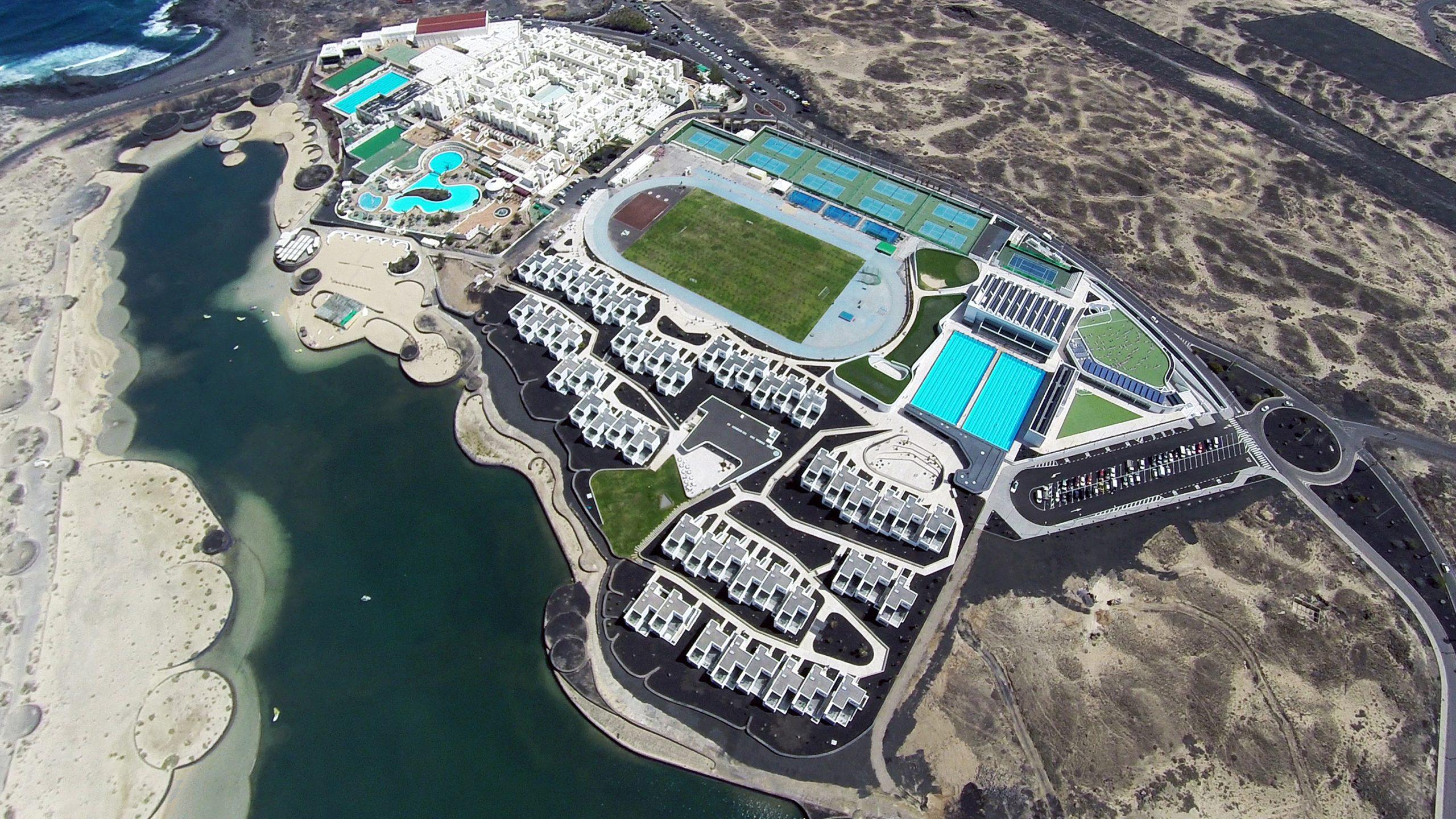 Danske Club La Santa på Lanzarote. Fonden bag Club La Santa har den største pengetank blandt danskejede rejsebureauer. Foto: Club La Santa.