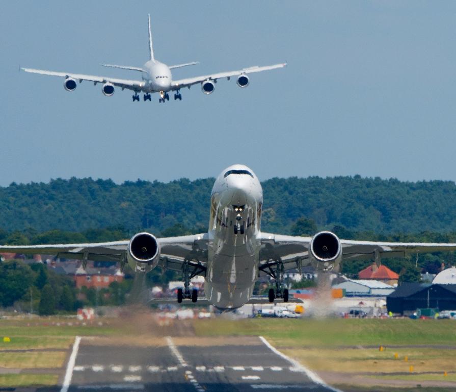 Rejsebranchen er blandt andet udfordret af at nærmest alle flyruter er lukket – det har gjort det svært for rejsebureauerne at hente strandede rejsende hjem. Arkivpressefoto fra Airbus.