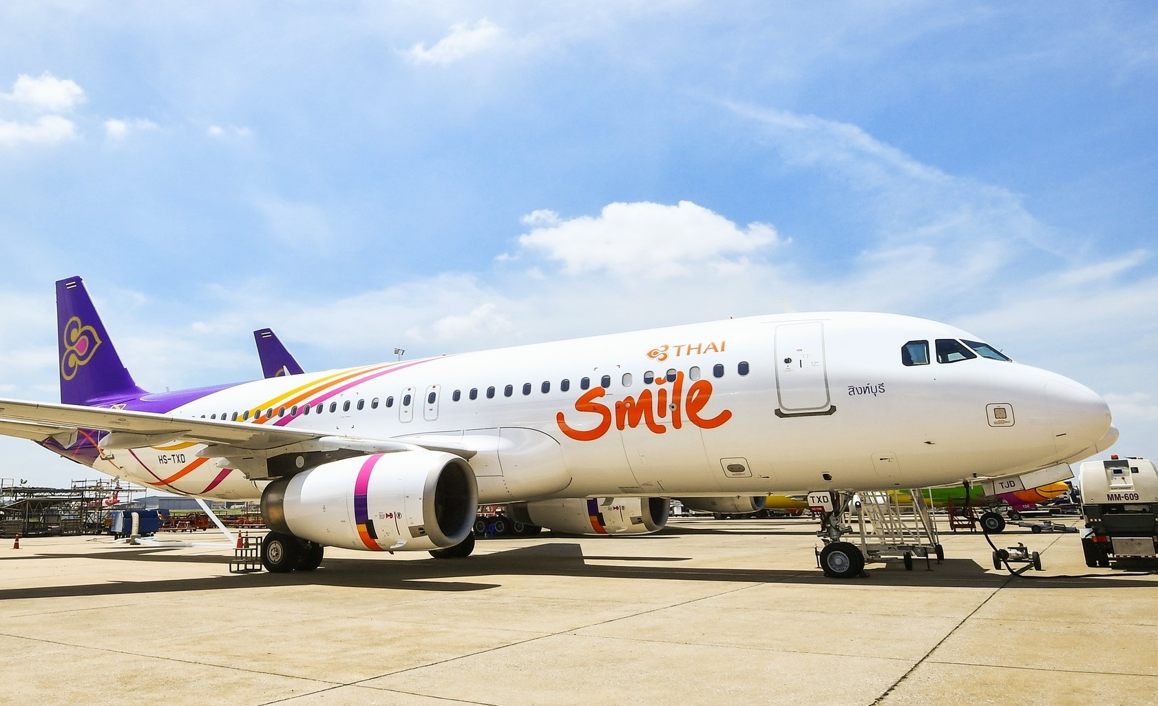 Thai Smile Airways er nyt filialmedlem af Star Alliance – det regionale flyselskab betjener indenrigsruter i Thailand samt fra Thailand til flere lande i regionen. Pressefoto: Thai Smile – Star Alliance.