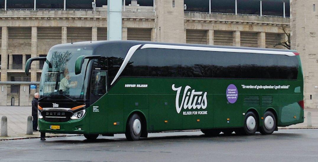 Vitus Rejser havde i år håbet at sende cirka 30.000 gæster afsted – ligeligt fordelt mellem bus- og flyrejser. Nu bliver det i bedste fald omkring det halve på grund af coronakrisen. Arkiv PR-foto fra Vitus Rejser.
