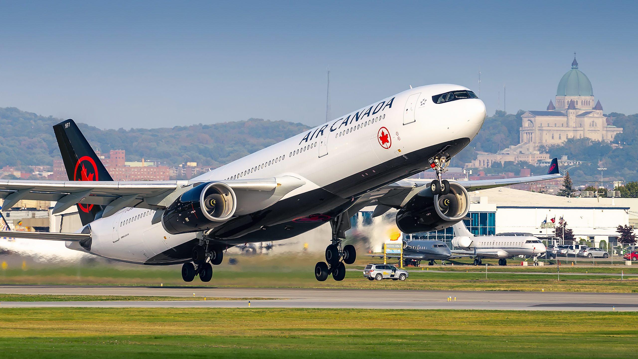 Air Canada lander igen i Københavns Lufthavn i morgen tidlig med en Airbus A330-300; dog uden passagerer, men kun med cirka 30 tons luftfragt. Arkivpressefoto fra Air Canada.