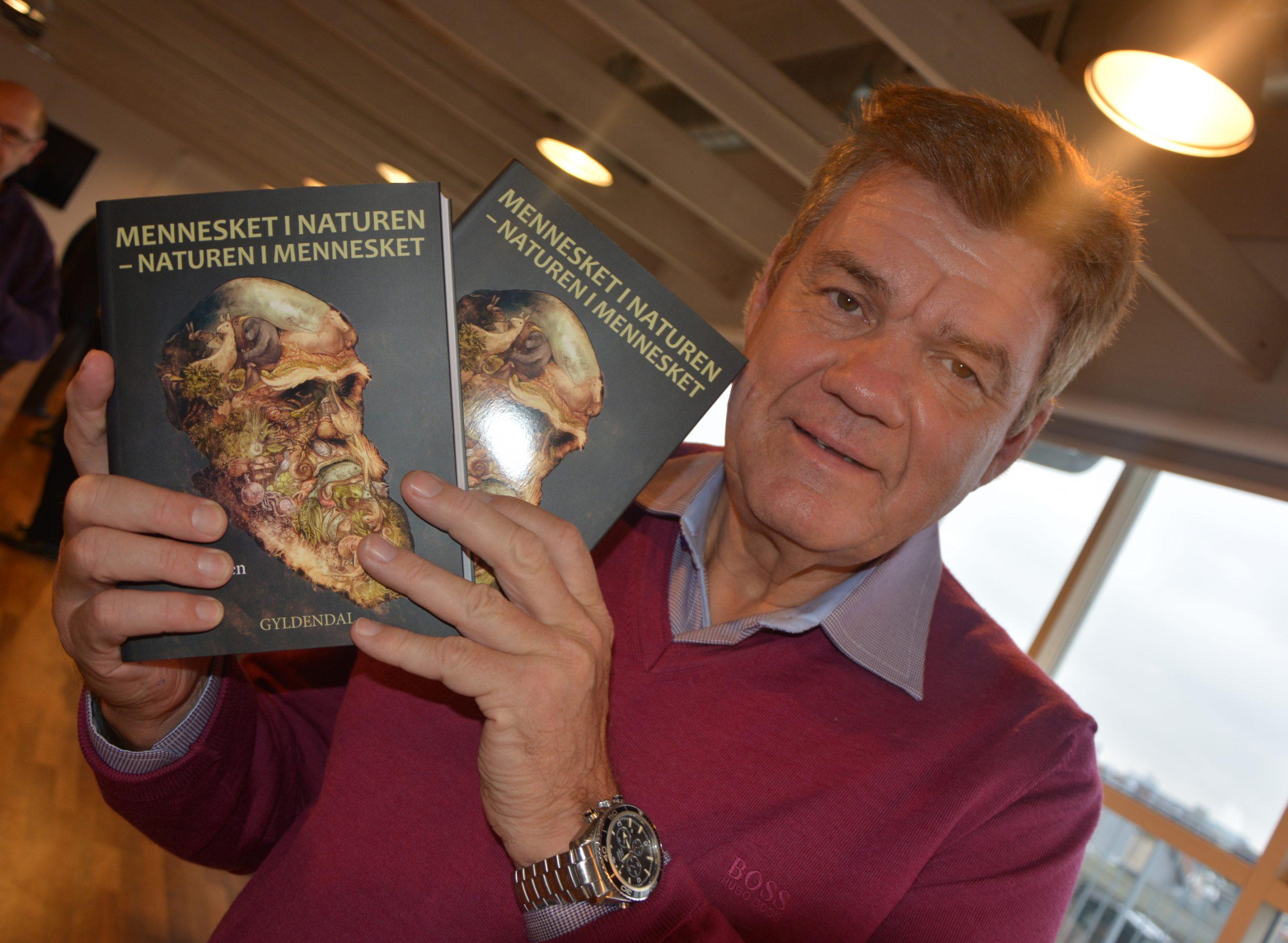 Søren Rasmussen er uddannet biolog fra Københavns Universitet, i 2016 udgav han endnu en bog, hvis titel synes ganske aktuel i forhold til coronakrisen. Arkivfoto: Preben Pathuel.
