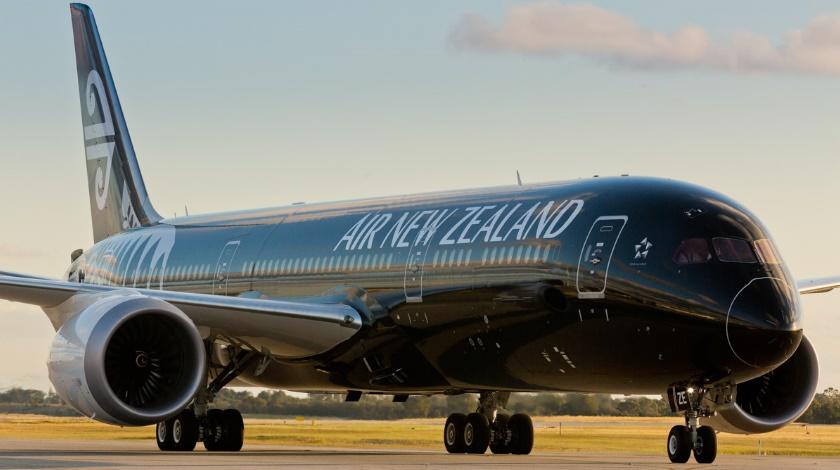 Air New Zealand er medlem af Star Alliance og betjener over 50 destinationer i ind- og udland. Selskabets flagskib er Boeing B787-9 Dreamliner. Pressefoto: Air New Zealand.