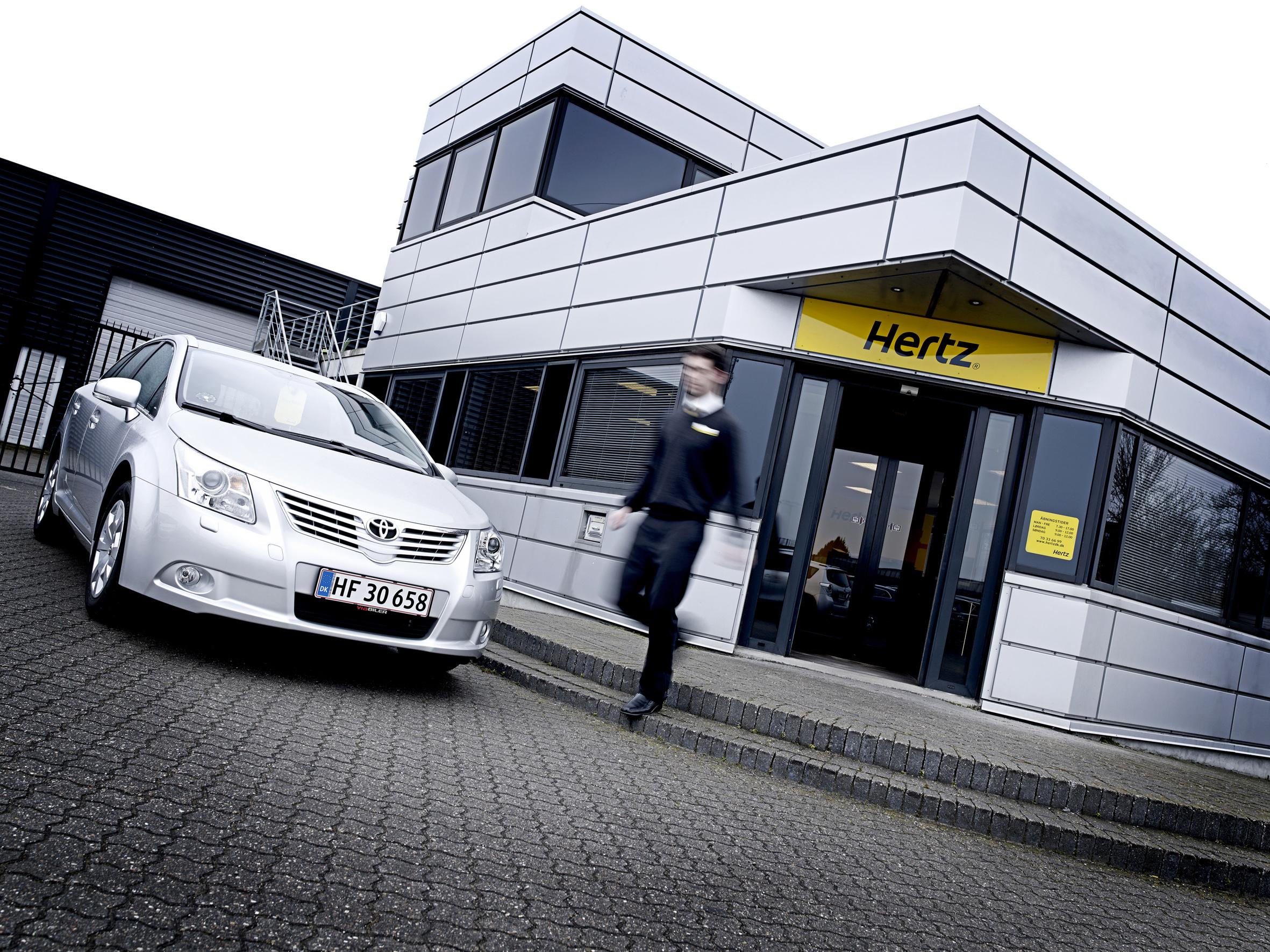 Hertz i USA er i store økonomiske problemer, men i Norden påvirkes koncernen ikke på det nordiske marked, da Hertz i Norden ejes af Volvo. Arkivpressefoto fra Hertz.