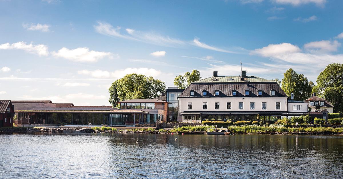 Charterrejsebureauet Apollo vil snart sælge hotelferier i Danmark. Indtil nu har koncernen som noget nyt to feriehoteller i det svenske, på billedet er det Hooks Herrgård i Småland, små tre timers kørsel nordøst for Helsingborg. Pressefoto via Apollo.