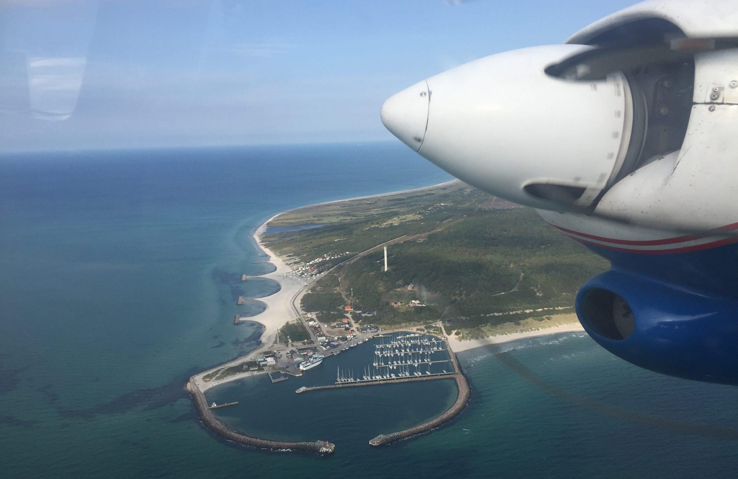Anholt er en af de danske øer, der også kan bruges via det nye Økort.dk (Arkivfoto: Danny Longhi Andreasen)
