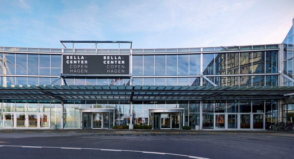 Nordens største kongrescenter, Bella Center på Amager, får den kommende uge debut som lokalitet for retssager. Arkivpressefoto: BC (Bella Center) Hospitality Group.