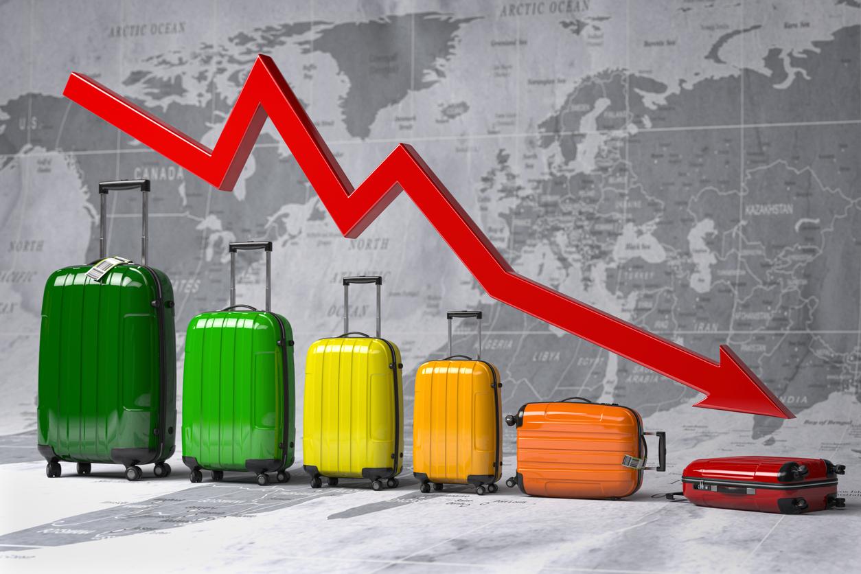 Krise i rejseindustrien. (Foto: Bet_Noire | iStock-121821100)