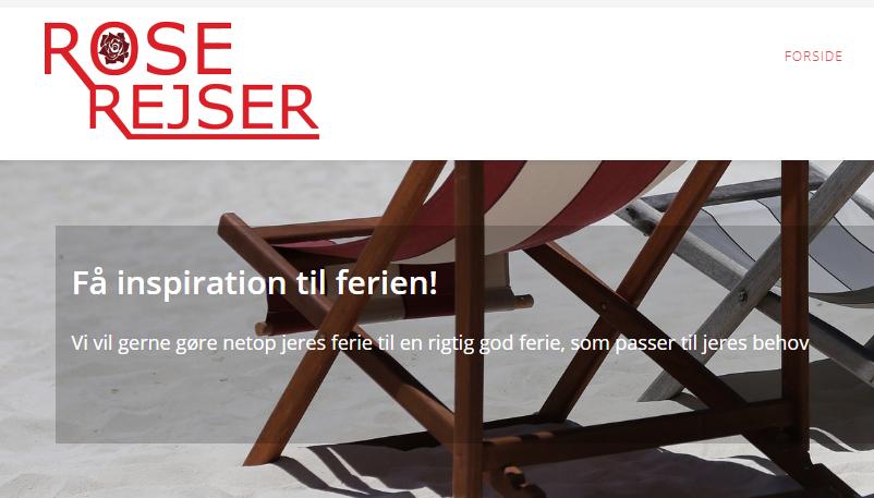ndnu et mindre dansk rejsebureau er gået konkurs, denne gang Rose Rejser fra Tønder. Rejsebureauekspert forudser en stribe konkurser som følge af coronakrisen. Illustration fra Rose Rejses hjemmeside.