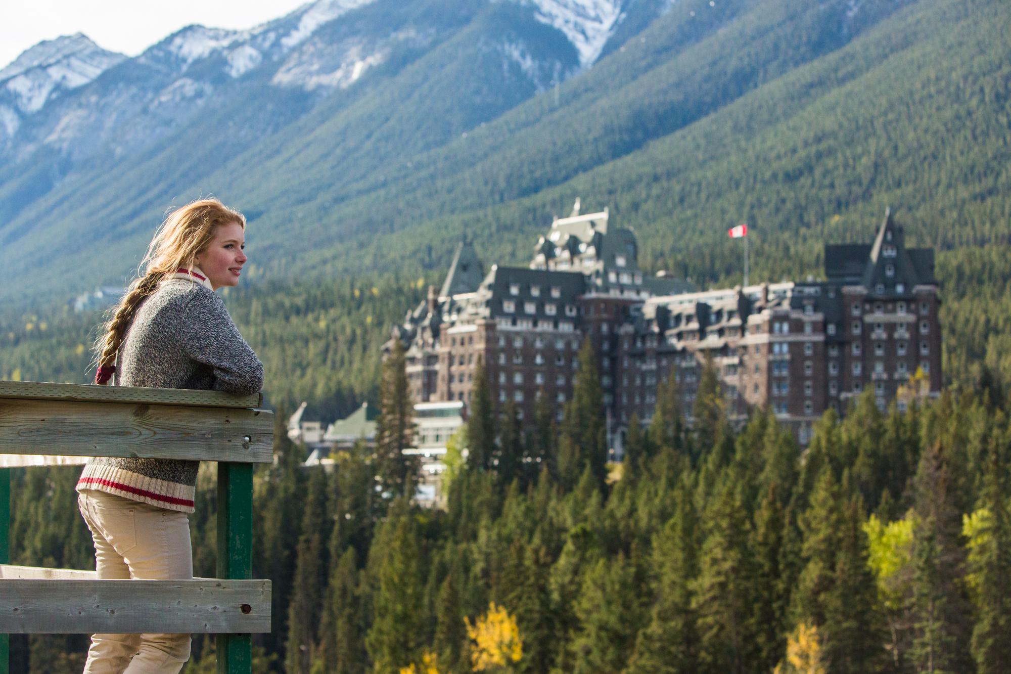 Canada er et af de 15 lande, EU nu vil åbne for, så turister fra EU kan komme til Canada og omvendt. På billedet er det Fairmont Banff Springs i delstaten Alberta. Pressefoto: Destination Canada.