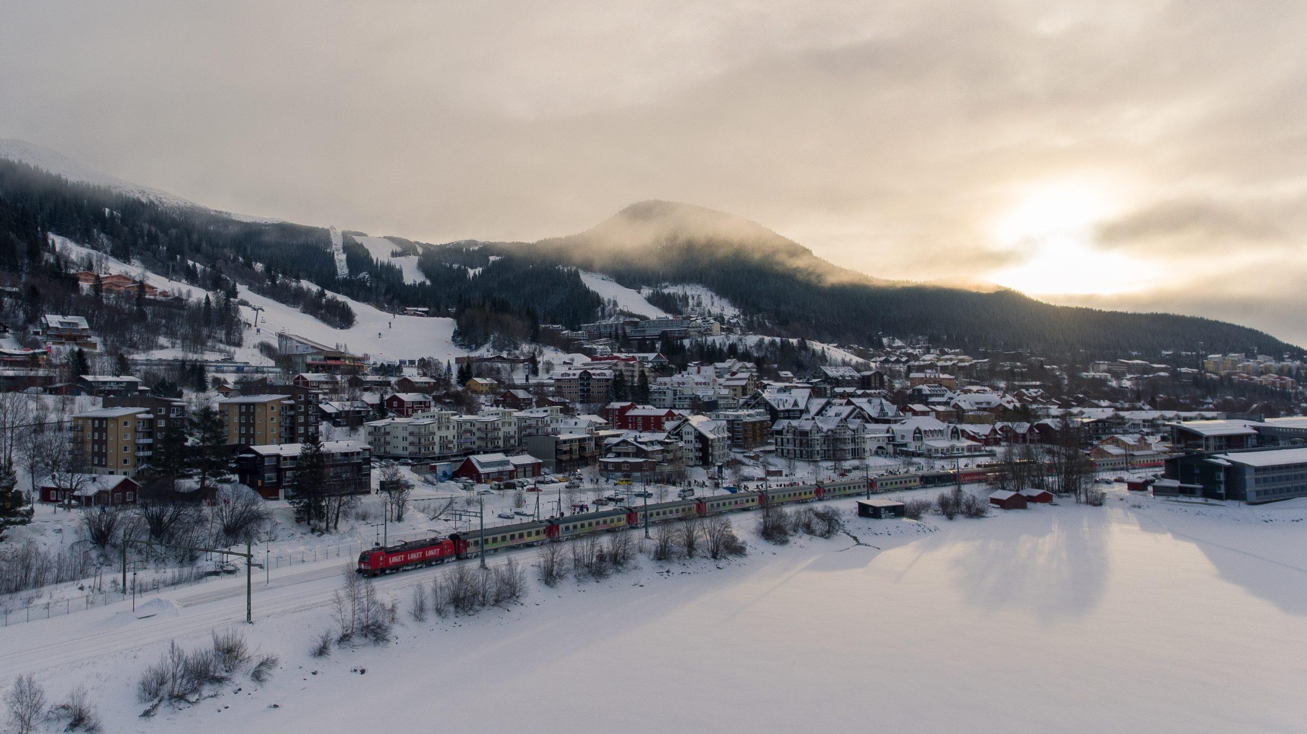 Skinetworks, der består af en række skirejsebureauer, tilbyder til vinter 11 rejsemål i Østrig, som gæsterne kan køre til med toget. Pressefoto: Skinetworks.